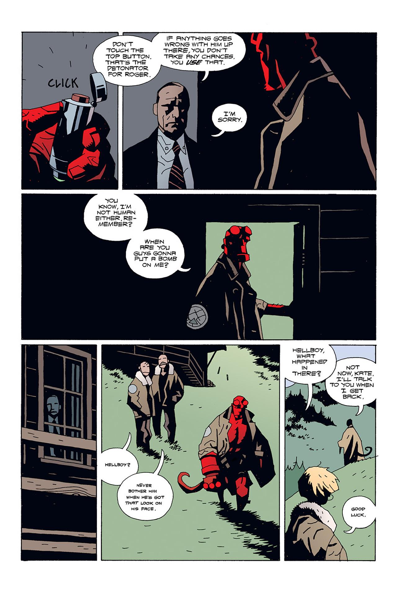 Read online Hellboy: Conqueror Worm comic -  Issue #1 - 16