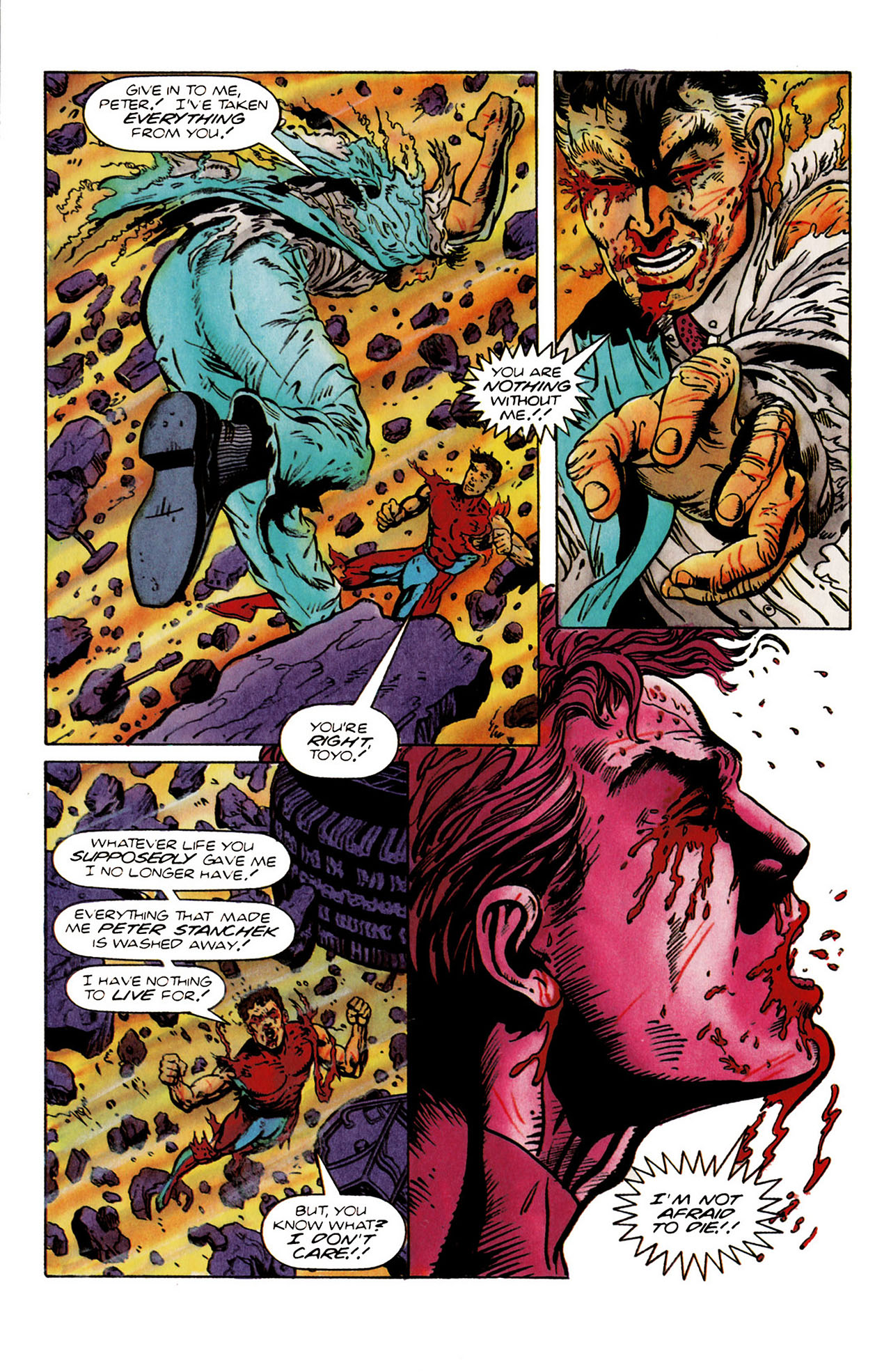 Read online Harbinger (1992) comic -  Issue #25 - 30