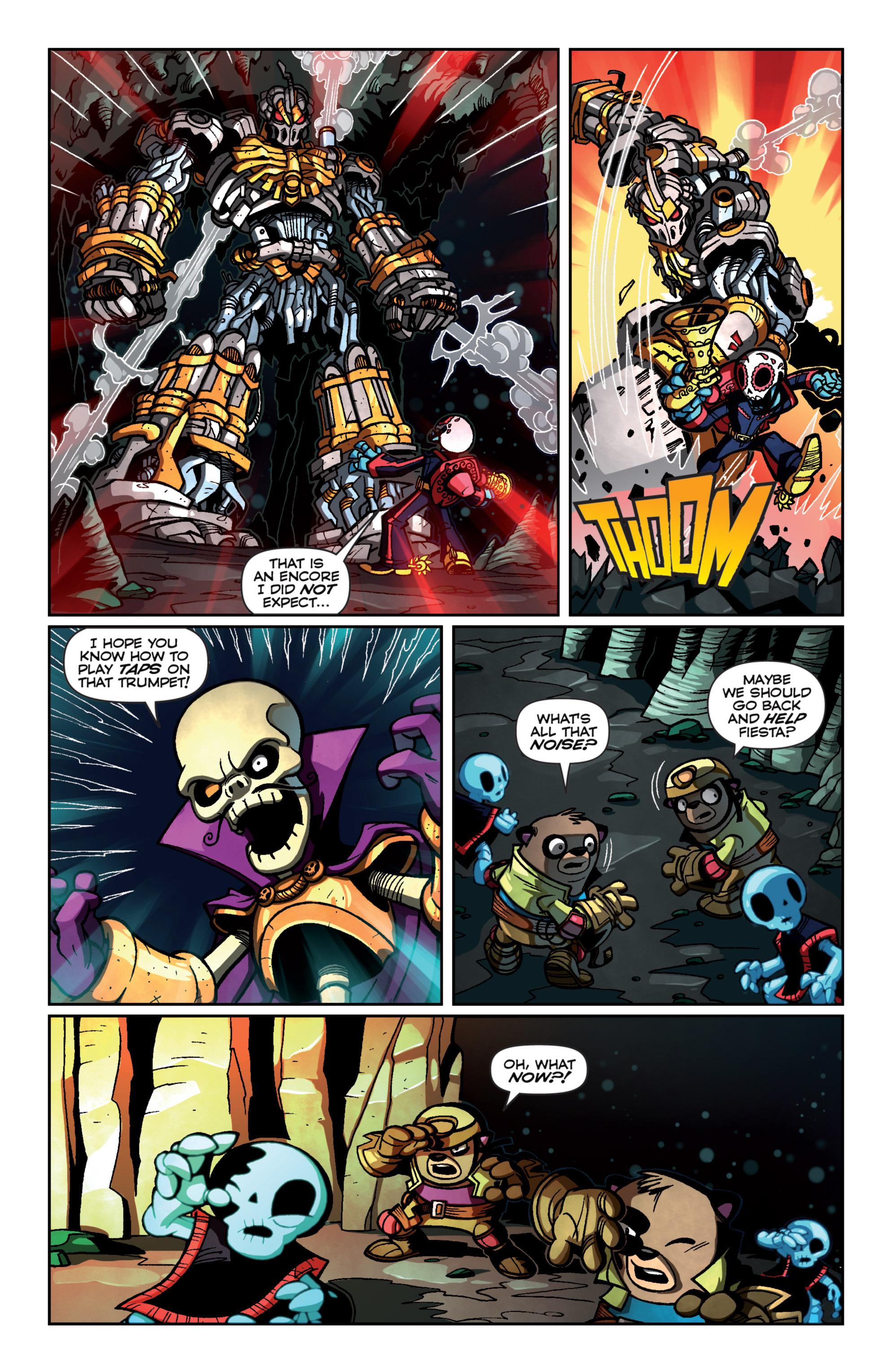 Read online Skylanders Superchargers comic -  Issue #4 - 16