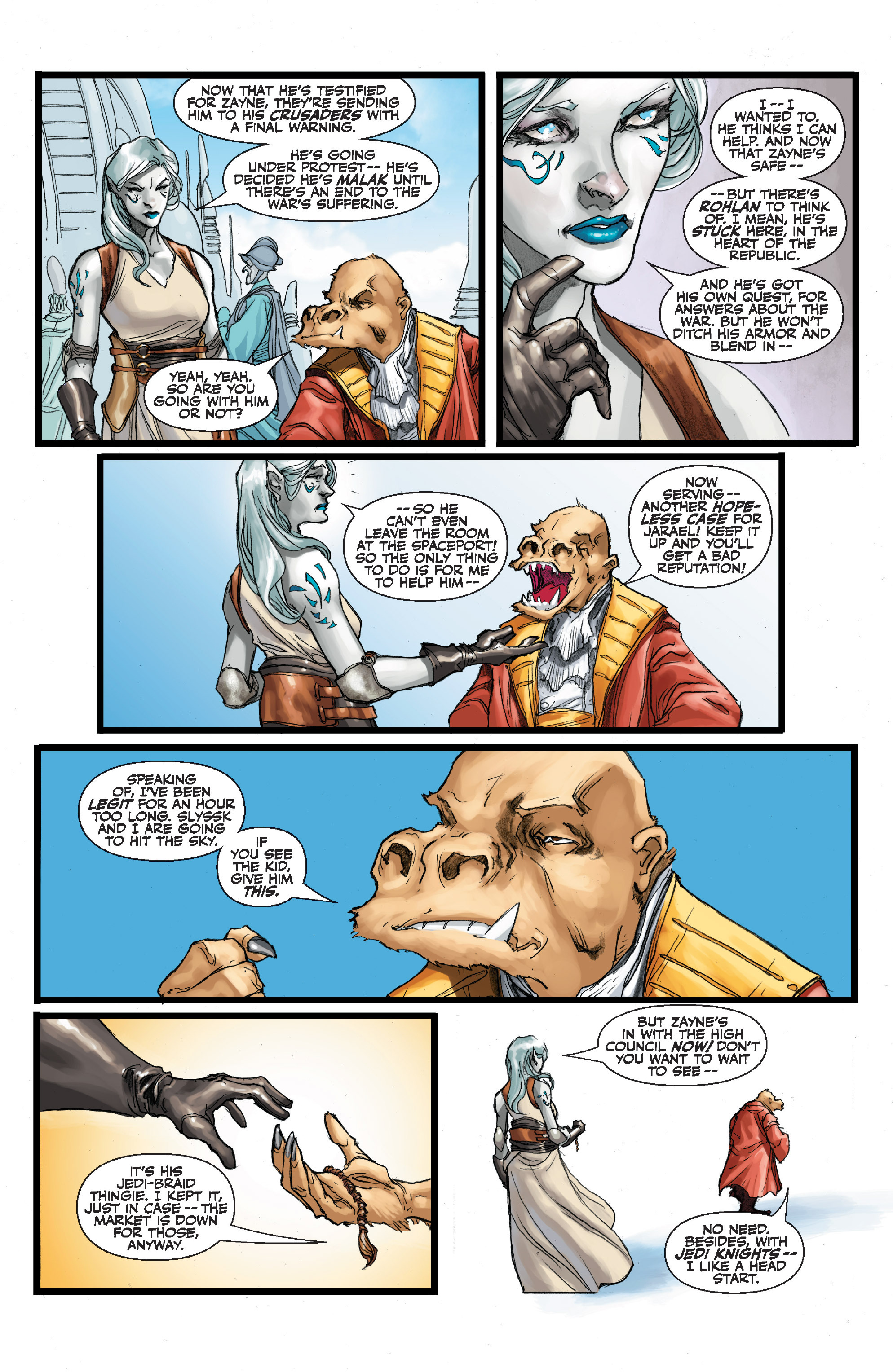 Read online Star Wars Omnibus comic -  Issue # Vol. 32 - 389