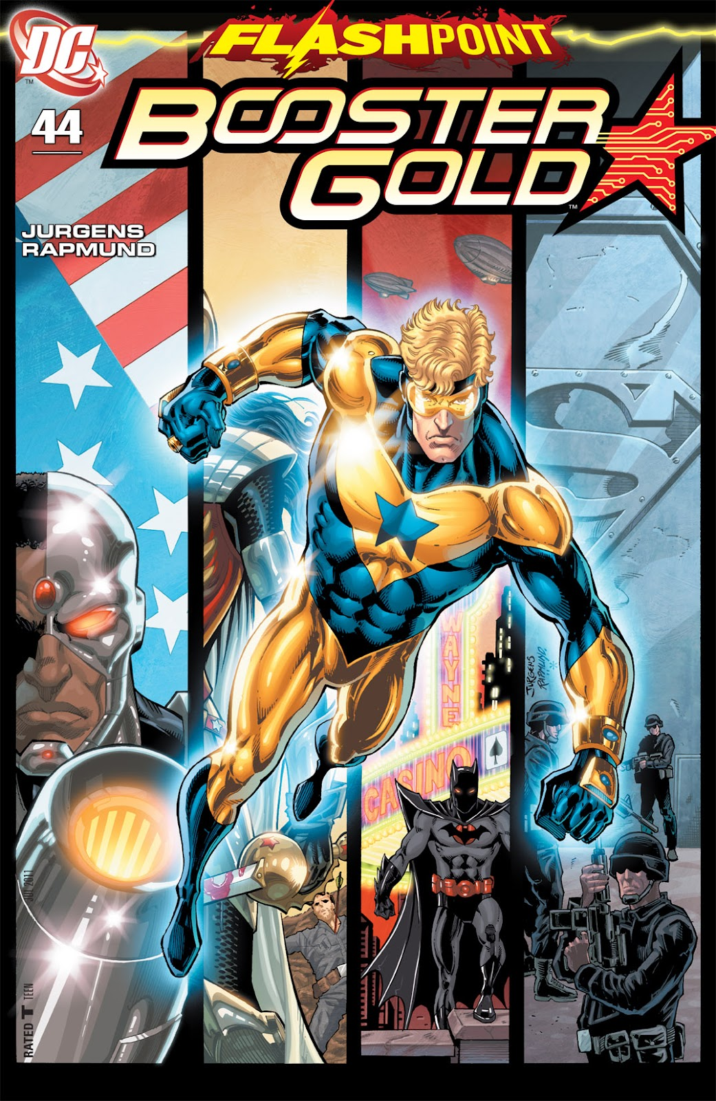 Booster Gold (2007) issue 44 - Page 1