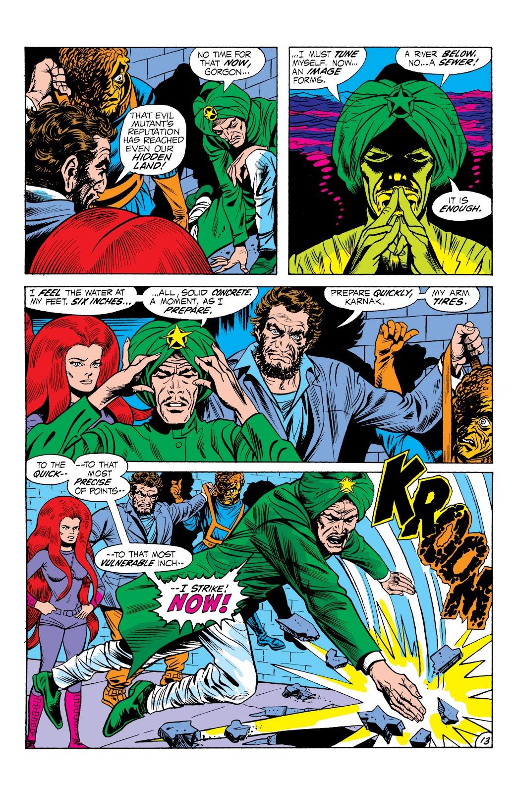 Read online Marvel Masterworks: The Inhumans comic -  Issue # TPB 1 (Part 2) - 70