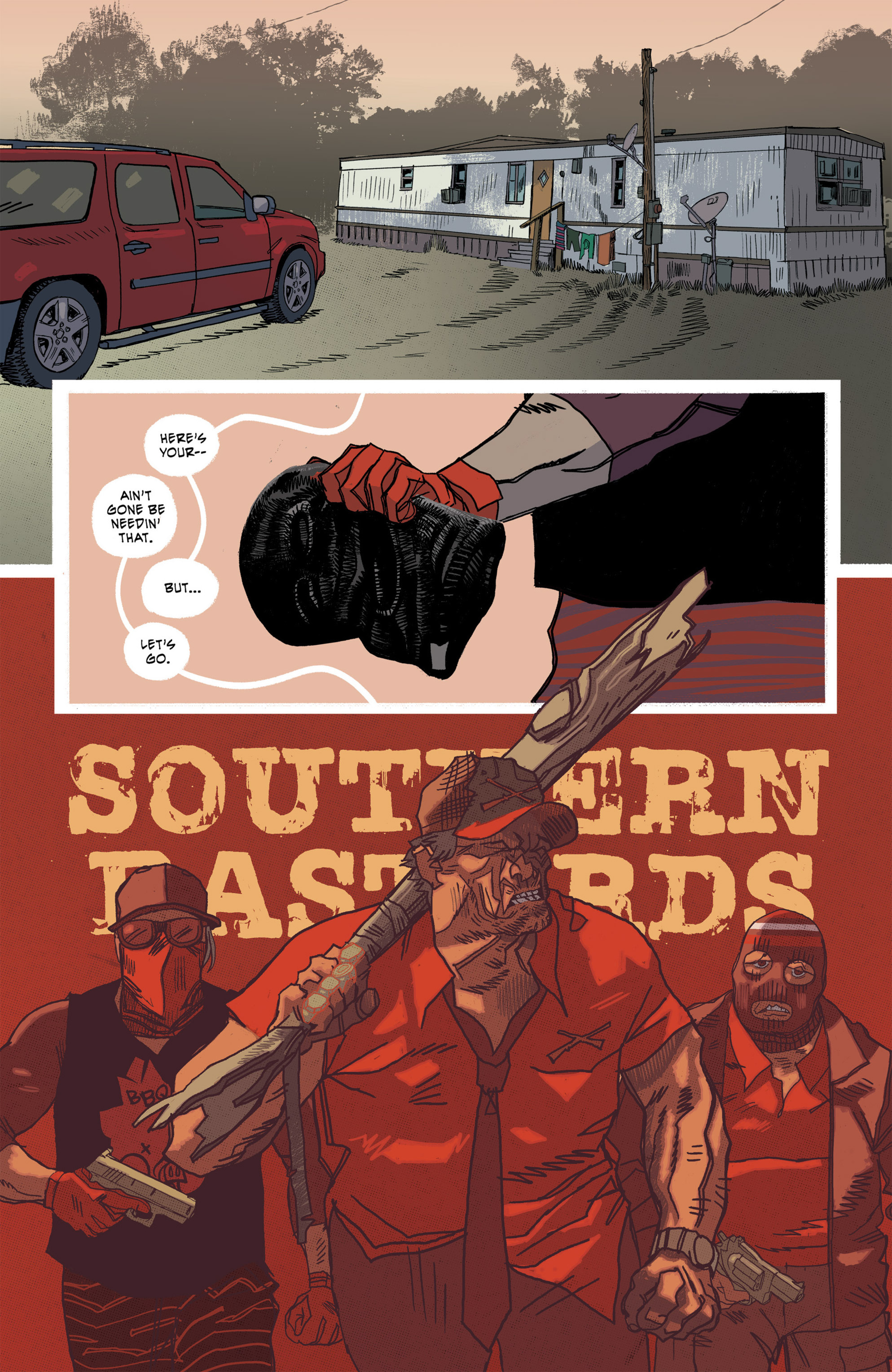 Read online Southern Bastards comic -  Issue #16 - 5