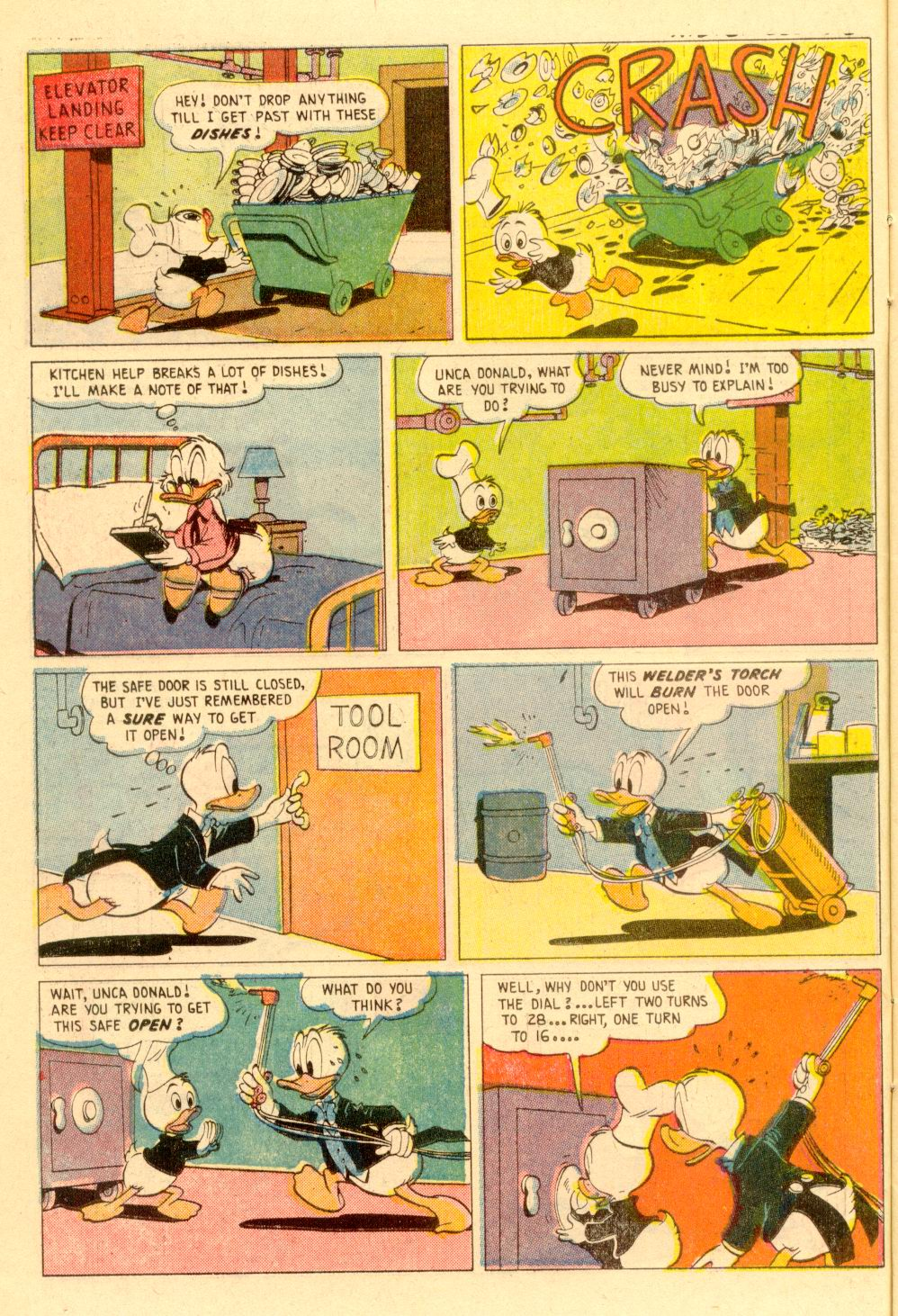 Walt Disney's Comics and Stories issue 355 - Page 10
