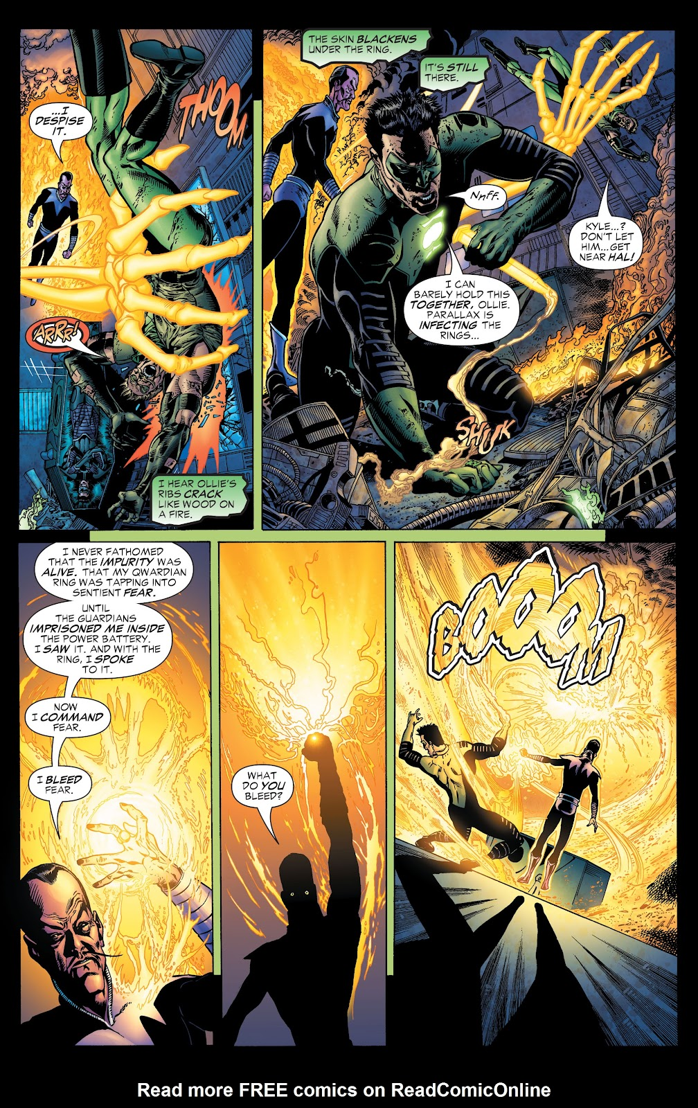 Read online Green Lantern by Geoff Johns comic -  Issue # TPB 1 (Part 1) - 94