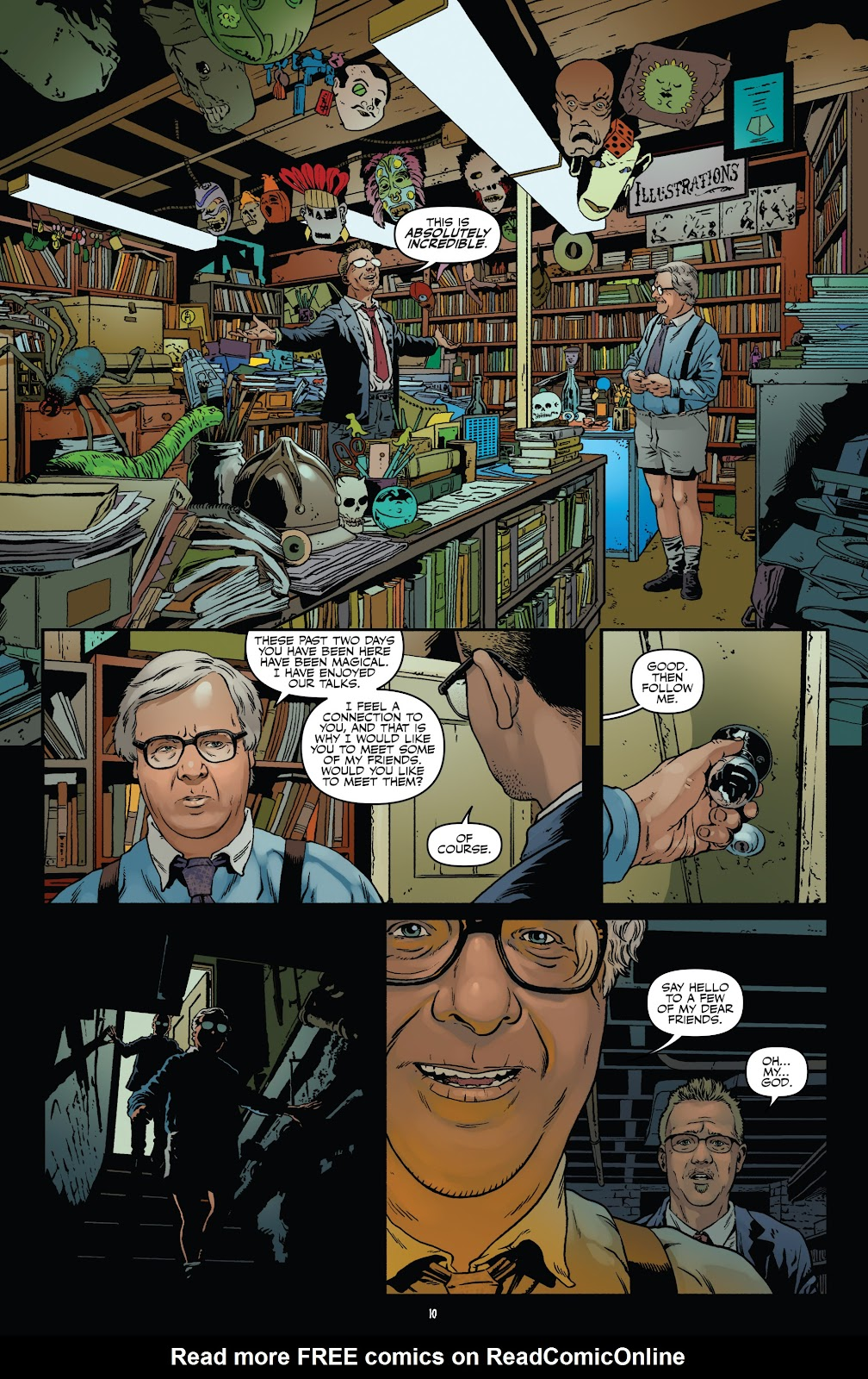 Read online Shadow Show: Stories in Celebration of Ray Bradbury comic -  Issue #3 - 12
