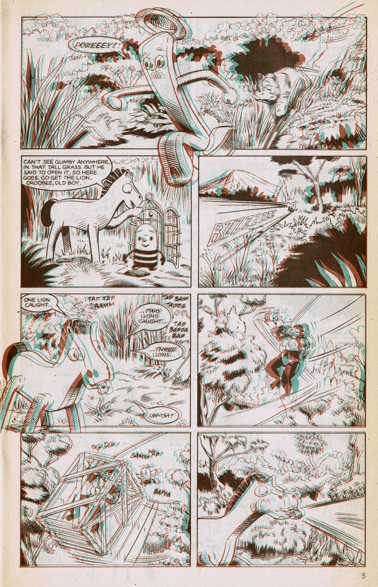 Gumby 3-D issue 1 - Page 7