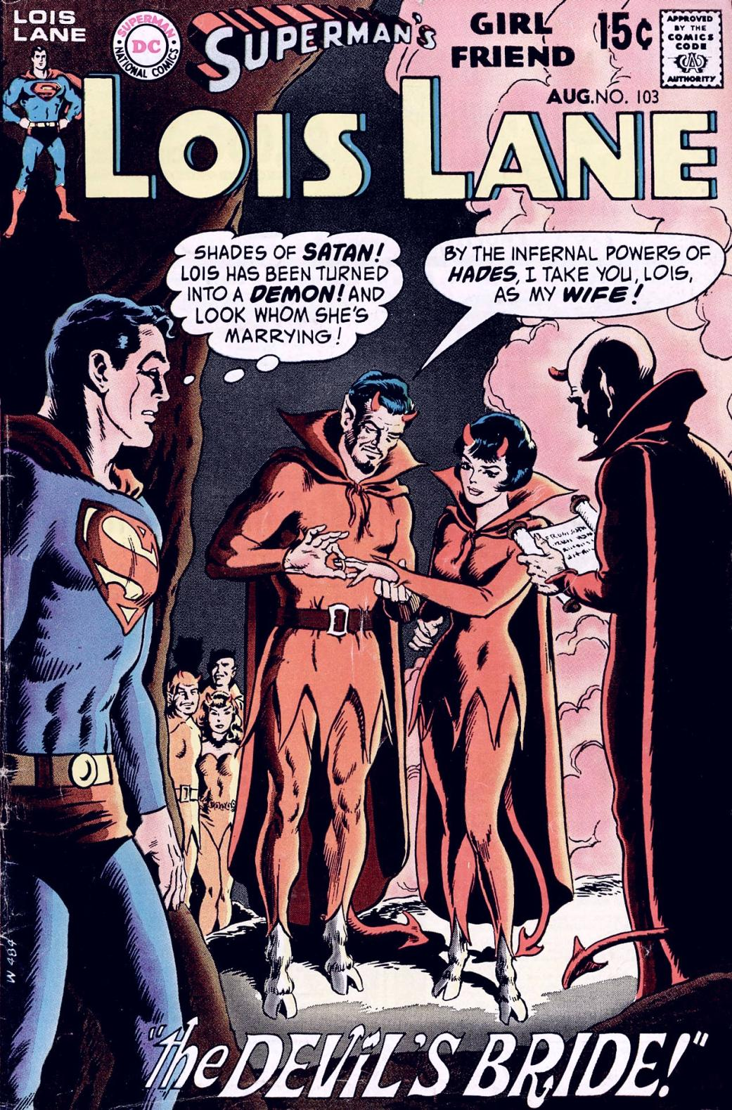 Supermans Girl Friend, Lois Lane 103 Page 1