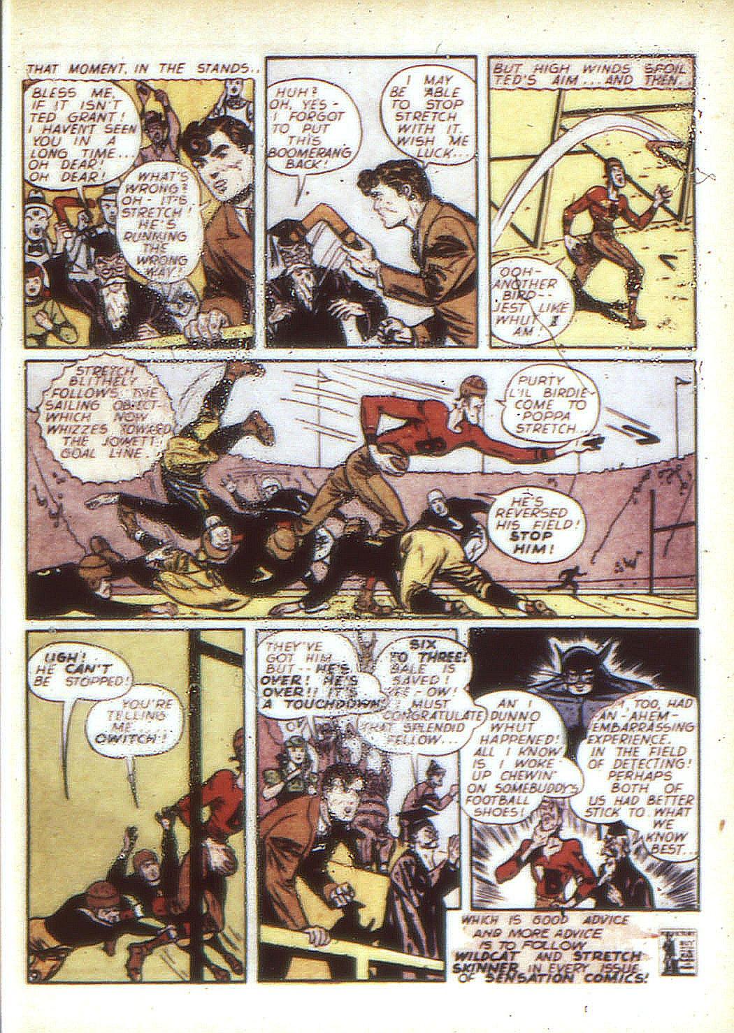 Read online Sensation (Mystery) Comics comic -  Issue #24 - 57