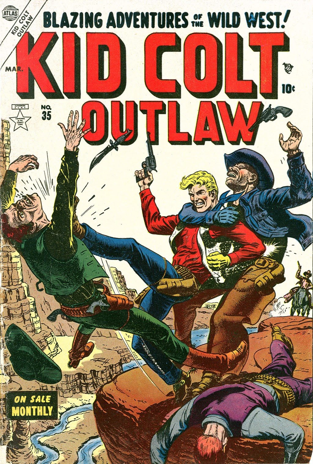 Kid Colt Outlaw issue 35 - Page 1