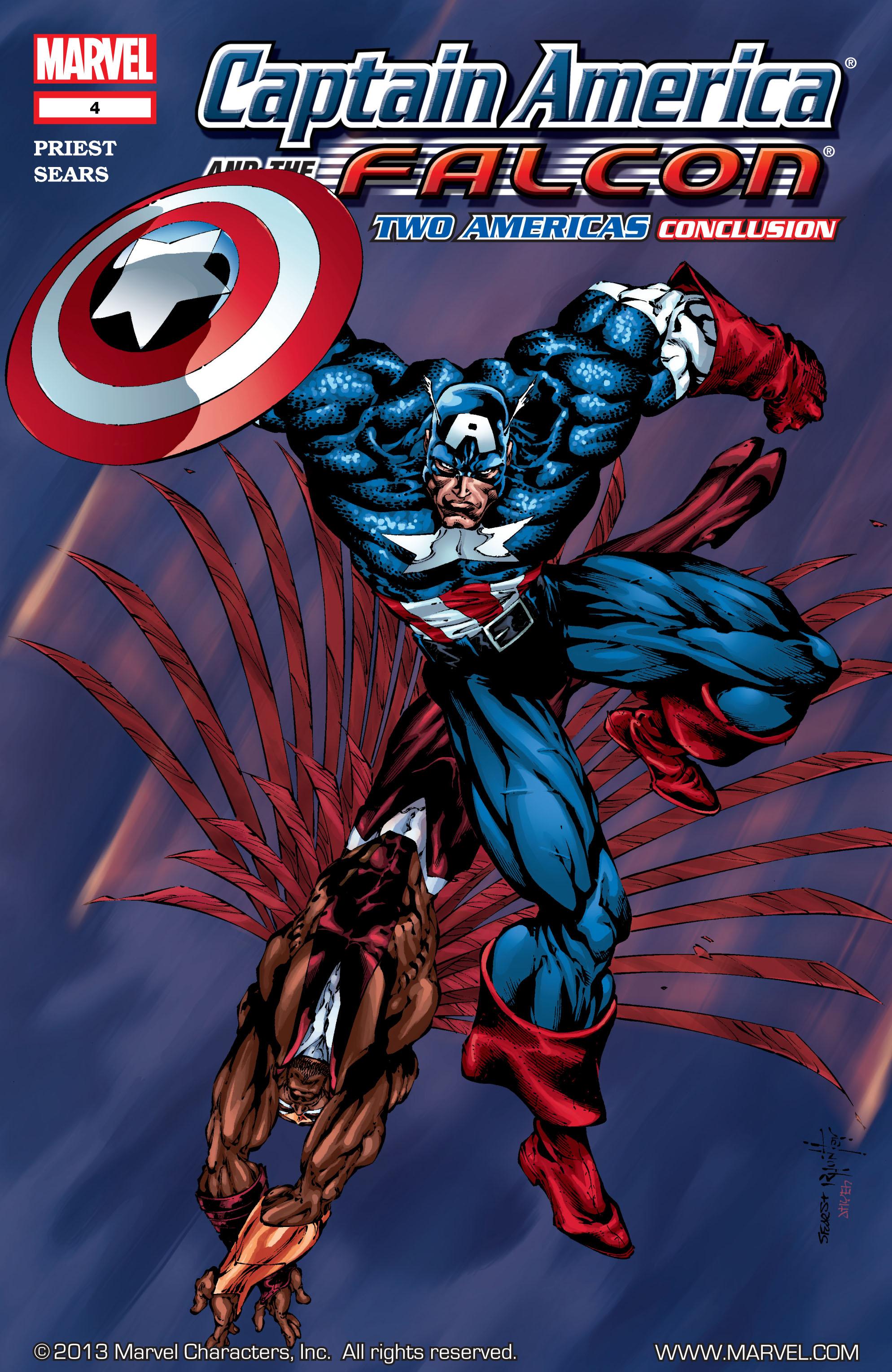 Captain America & the Falcon 4 Page 1