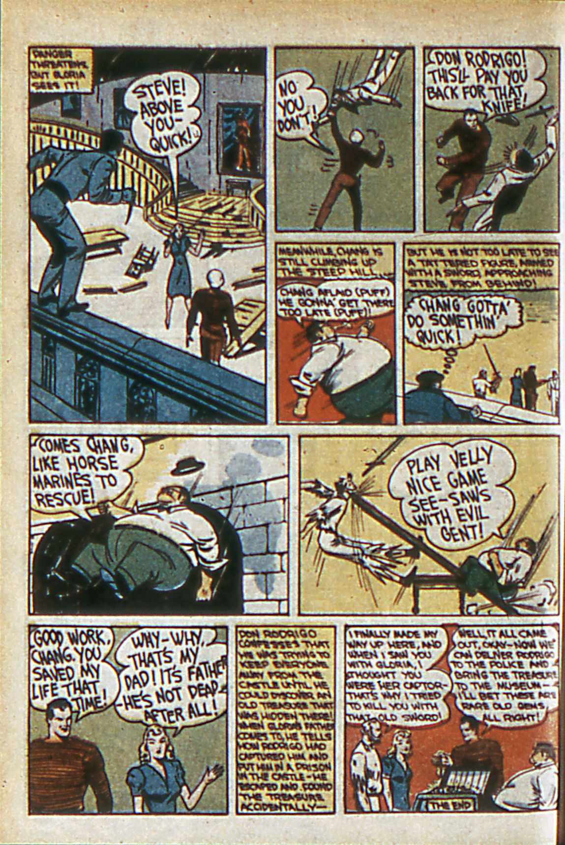 Read online Adventure Comics (1938) comic -  Issue #60 - 53