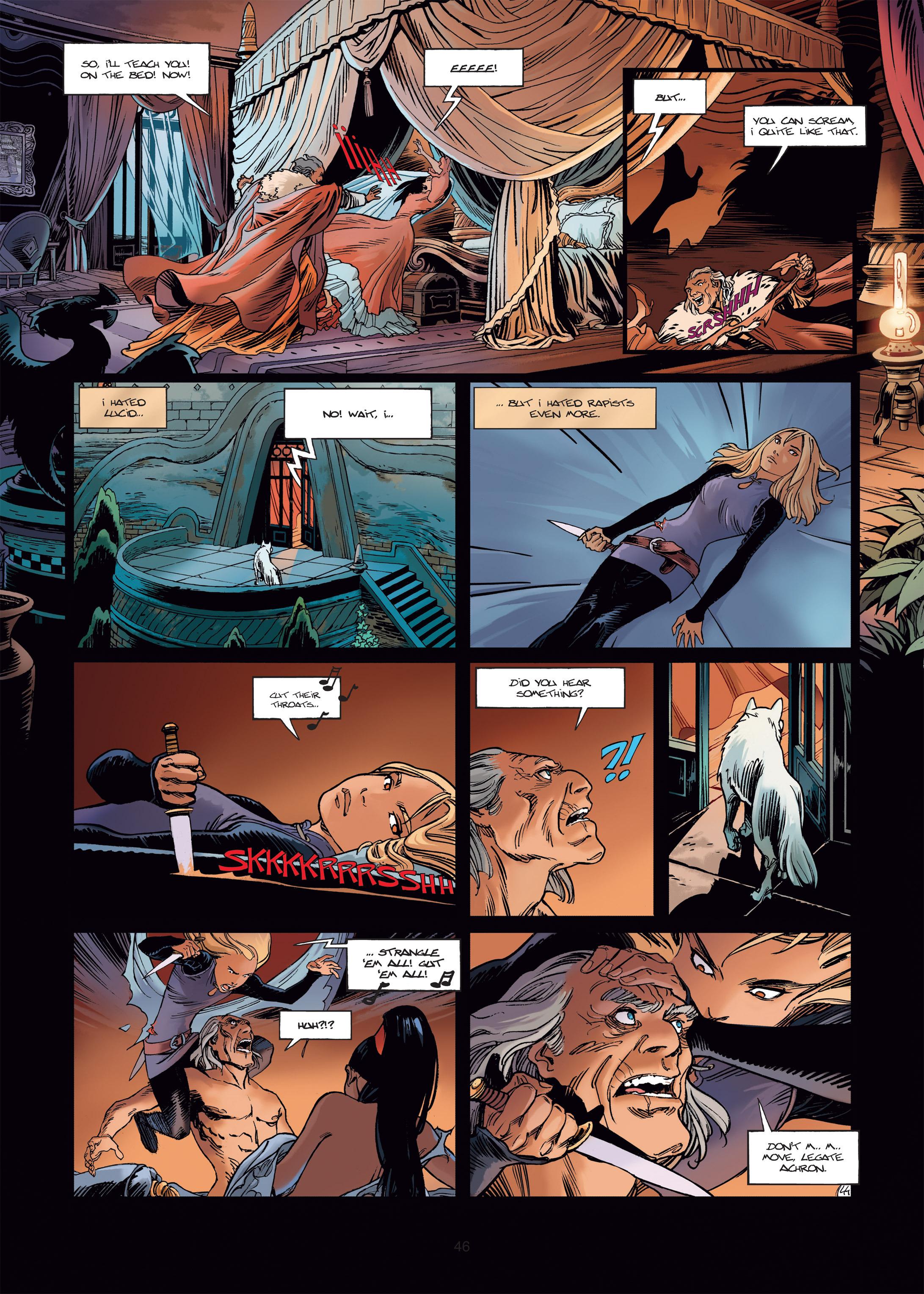 Read online Sangre Vol. 1: Sangre the Survivor comic -  Issue # Full - 46
