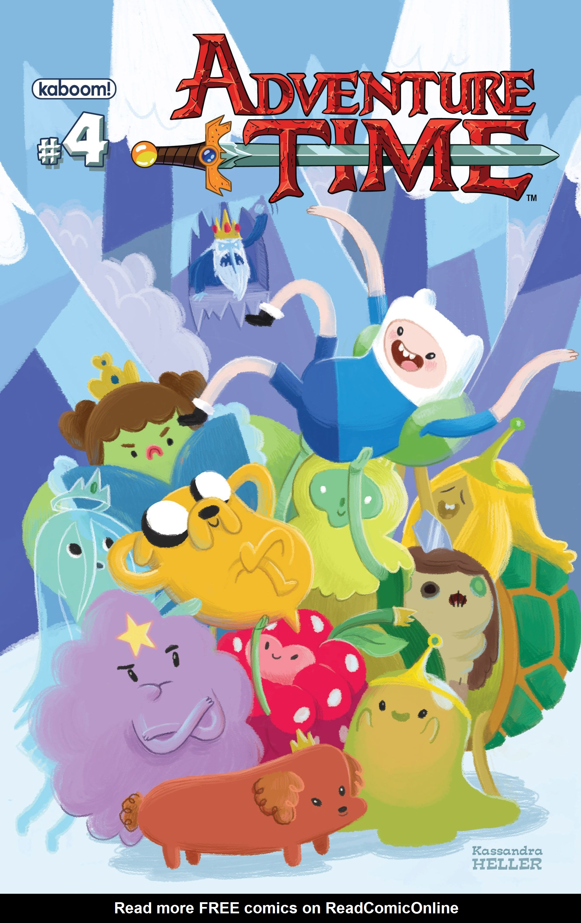 Read online Adventure Time comic -  Issue #4 - 2