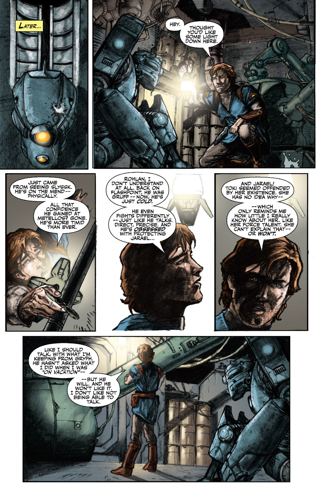 Read online Star Wars Legends: The Old Republic - Epic Collection comic -  Issue # TPB 3 (Part 1) - 28