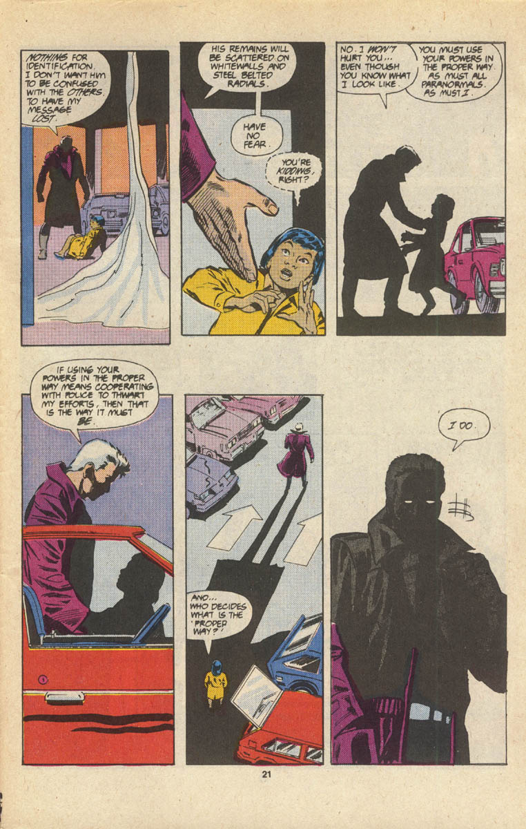 Read online Justice (1986) comic -  Issue #16 - 23