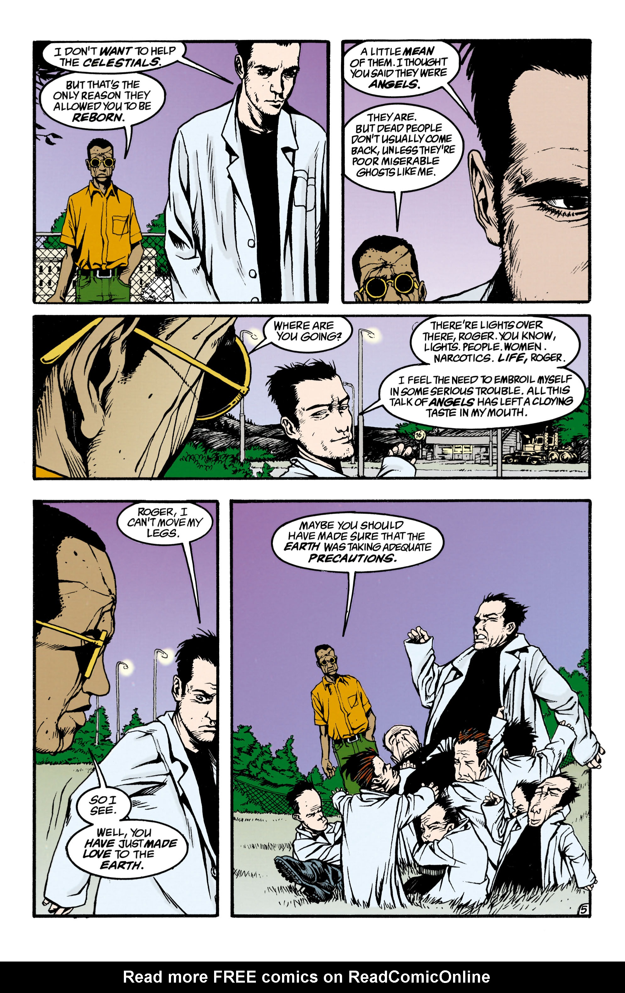 Read online Shade, the Changing Man comic -  Issue #34 - 5