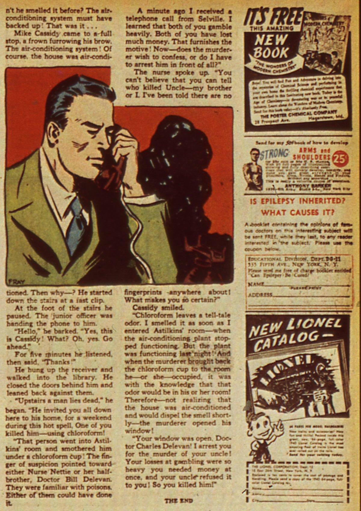 Read online Detective Comics (1937) comic -  Issue #45 - 43