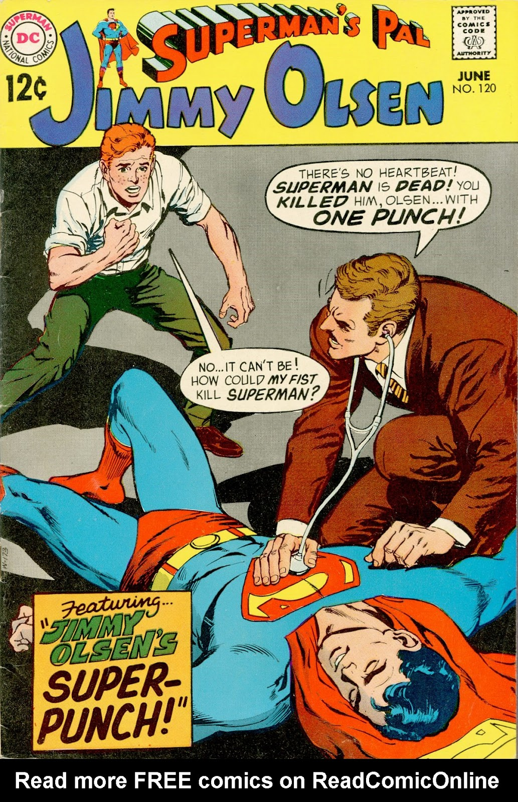 Supermans Pal Jimmy Olsen (1954) 120 Page 1