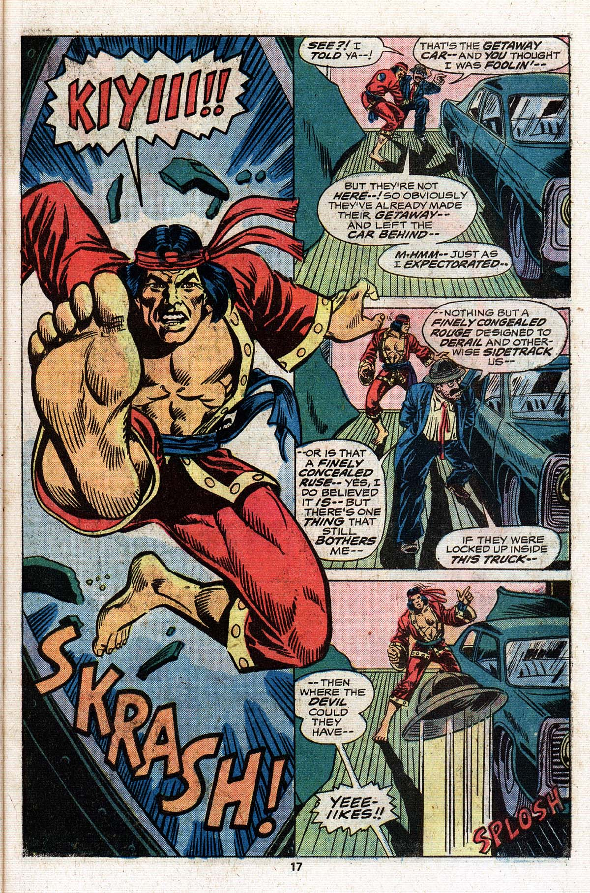 Read online Giant-Size Master of Kung Fu comic -  Issue #4 - 16