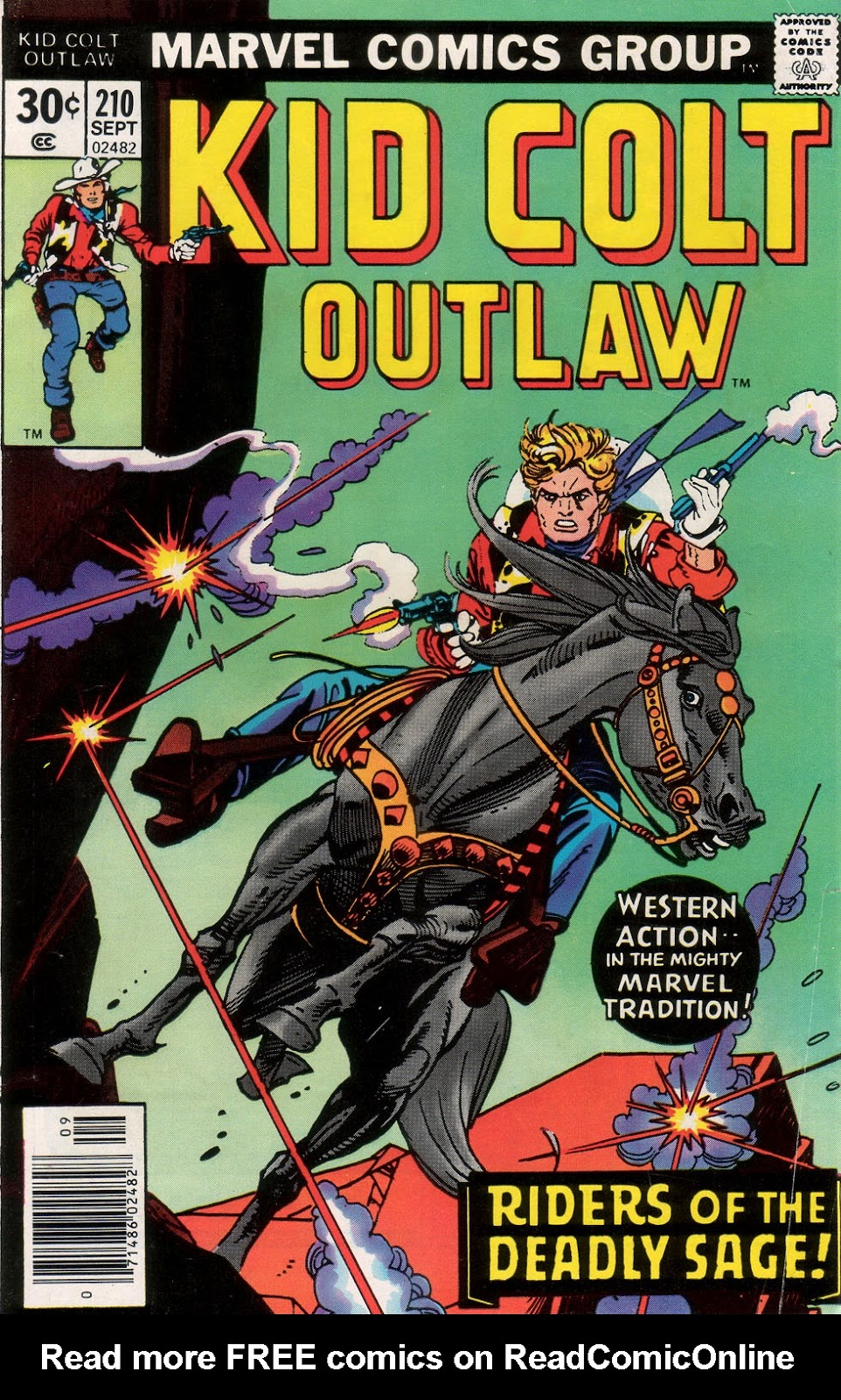 Kid Colt Outlaw issue 210 - Page 1