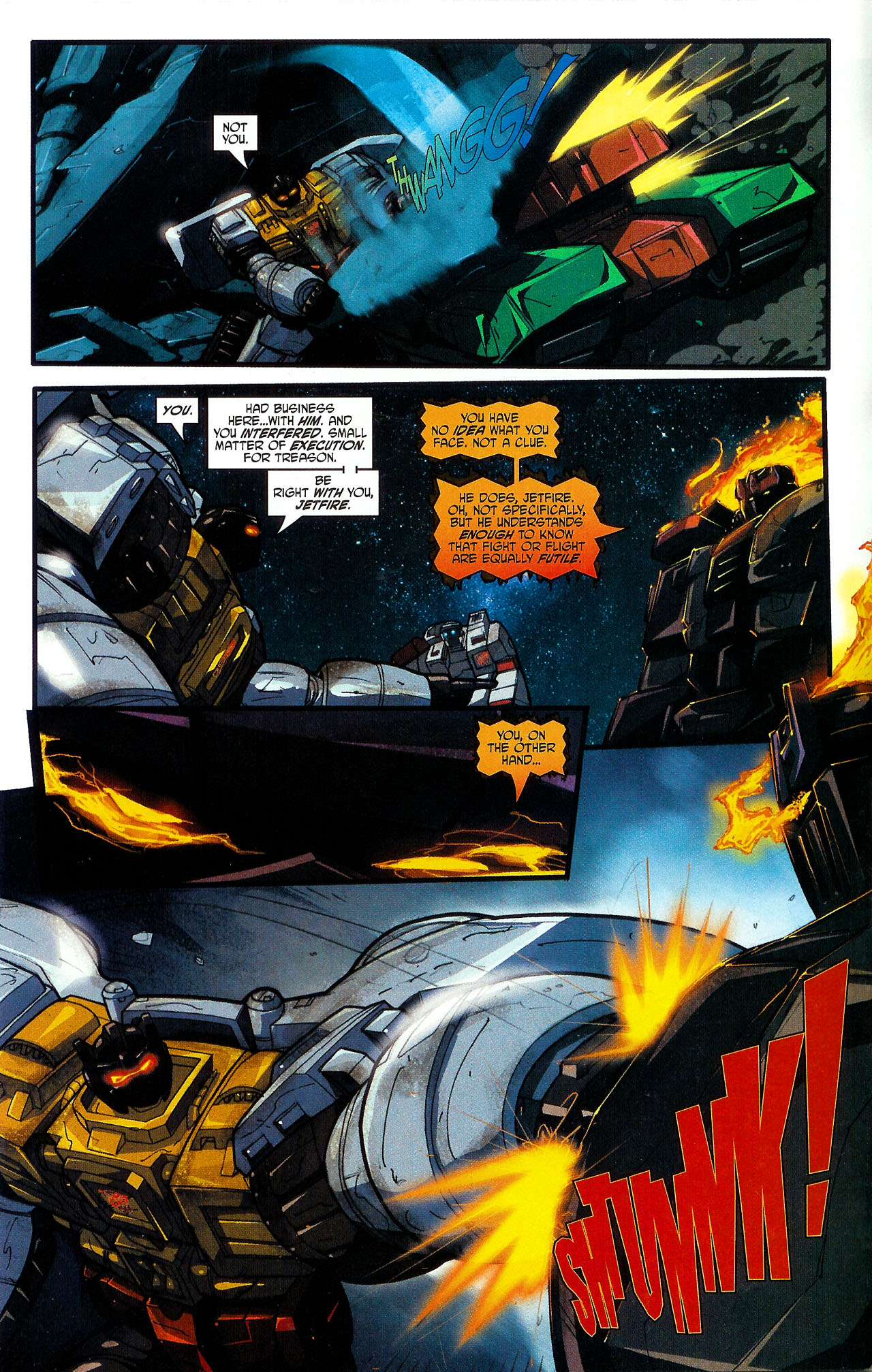 """Read online Transformers War Within: """"The Dark Ages"""" comic -  Issue #5 - 4"""