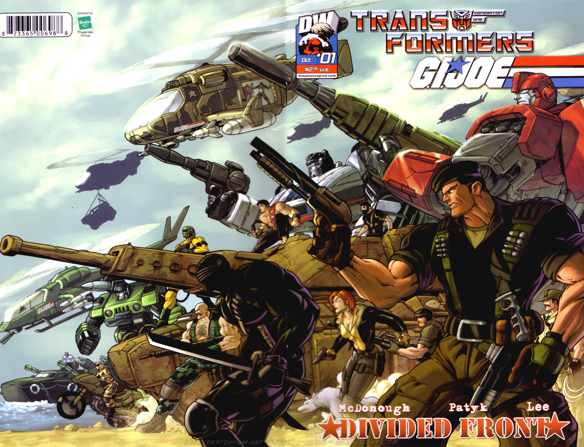 Read online Transformers/G.I. Joe: Divided Front comic -  Issue # Full - 4