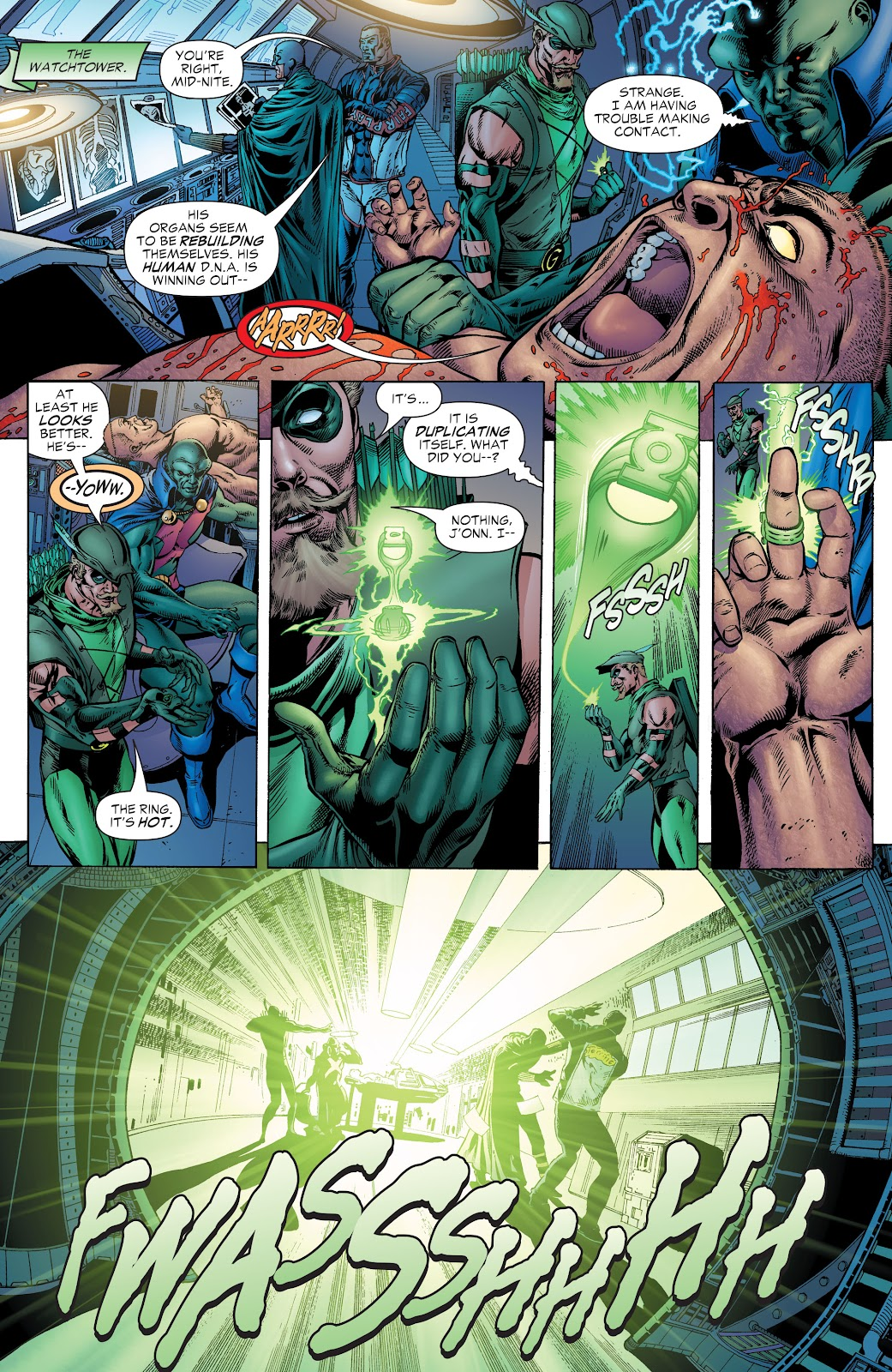 Read online Green Lantern by Geoff Johns comic -  Issue # TPB 1 (Part 1) - 58