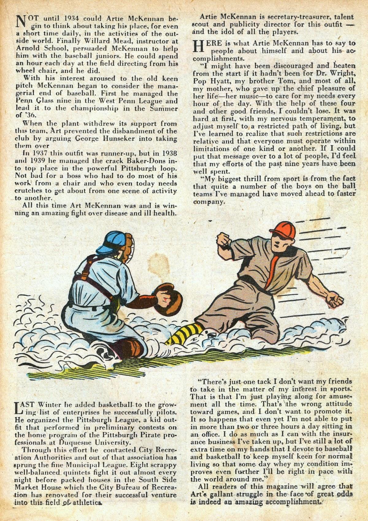 Read online Amazing Man Comics comic -  Issue #16 - 35