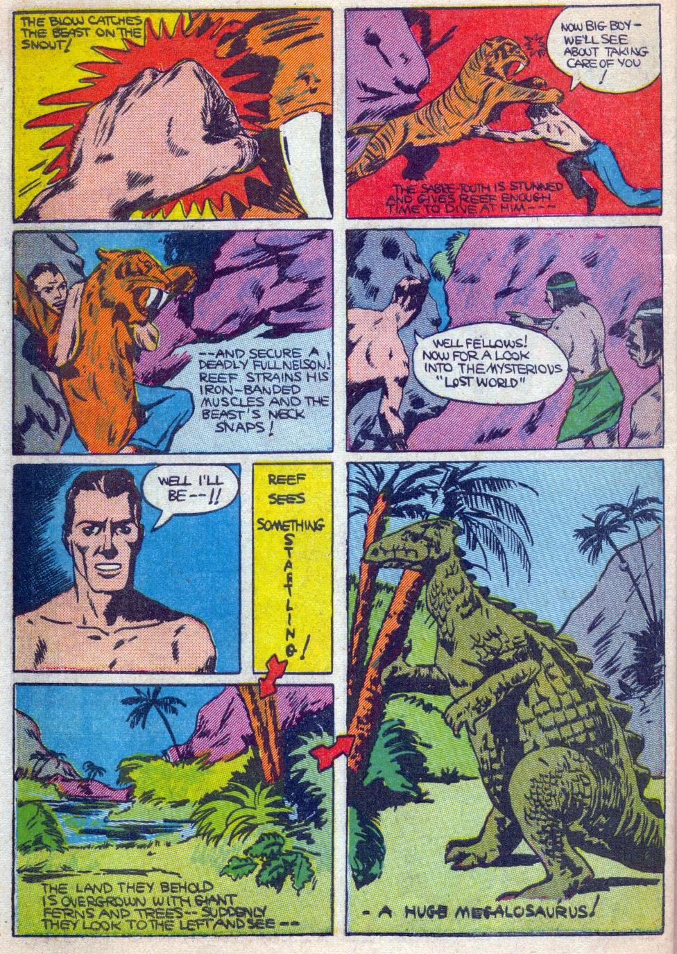 Read online Amazing Man Comics comic -  Issue #15 - 57