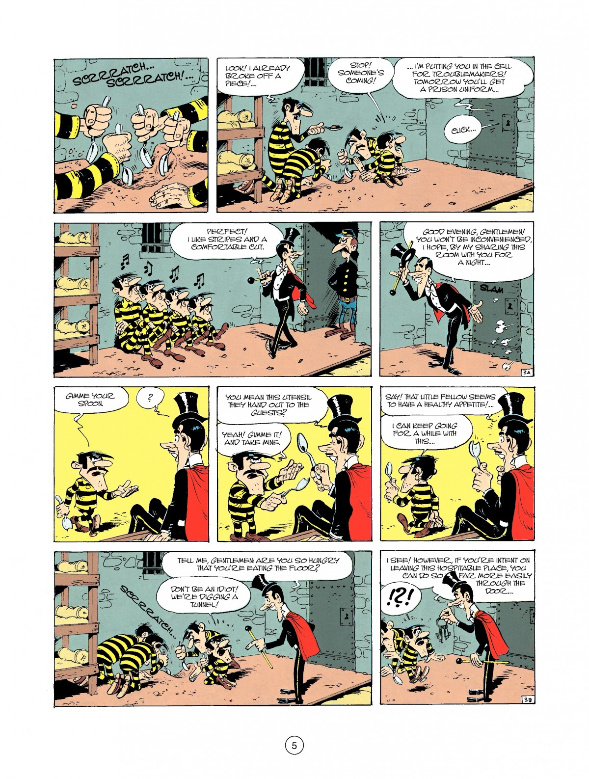 Read online A Lucky Luke Adventure comic -  Issue #37 - 5