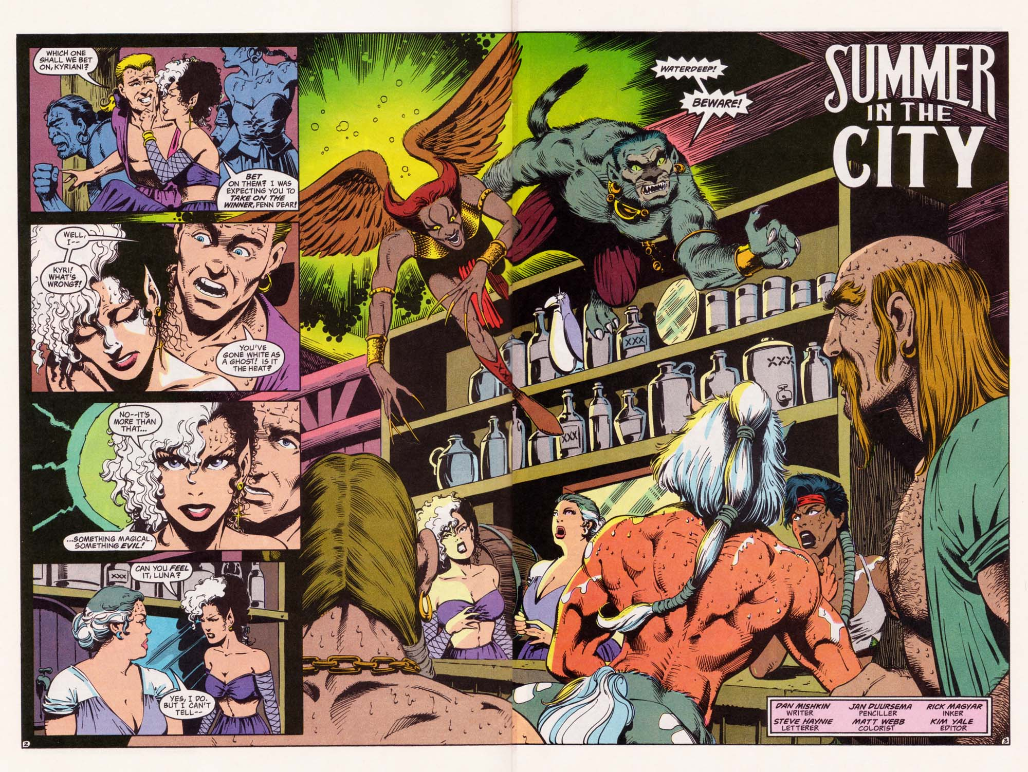 Read online Advanced Dungeons & Dragons comic -  Issue #33 - 3