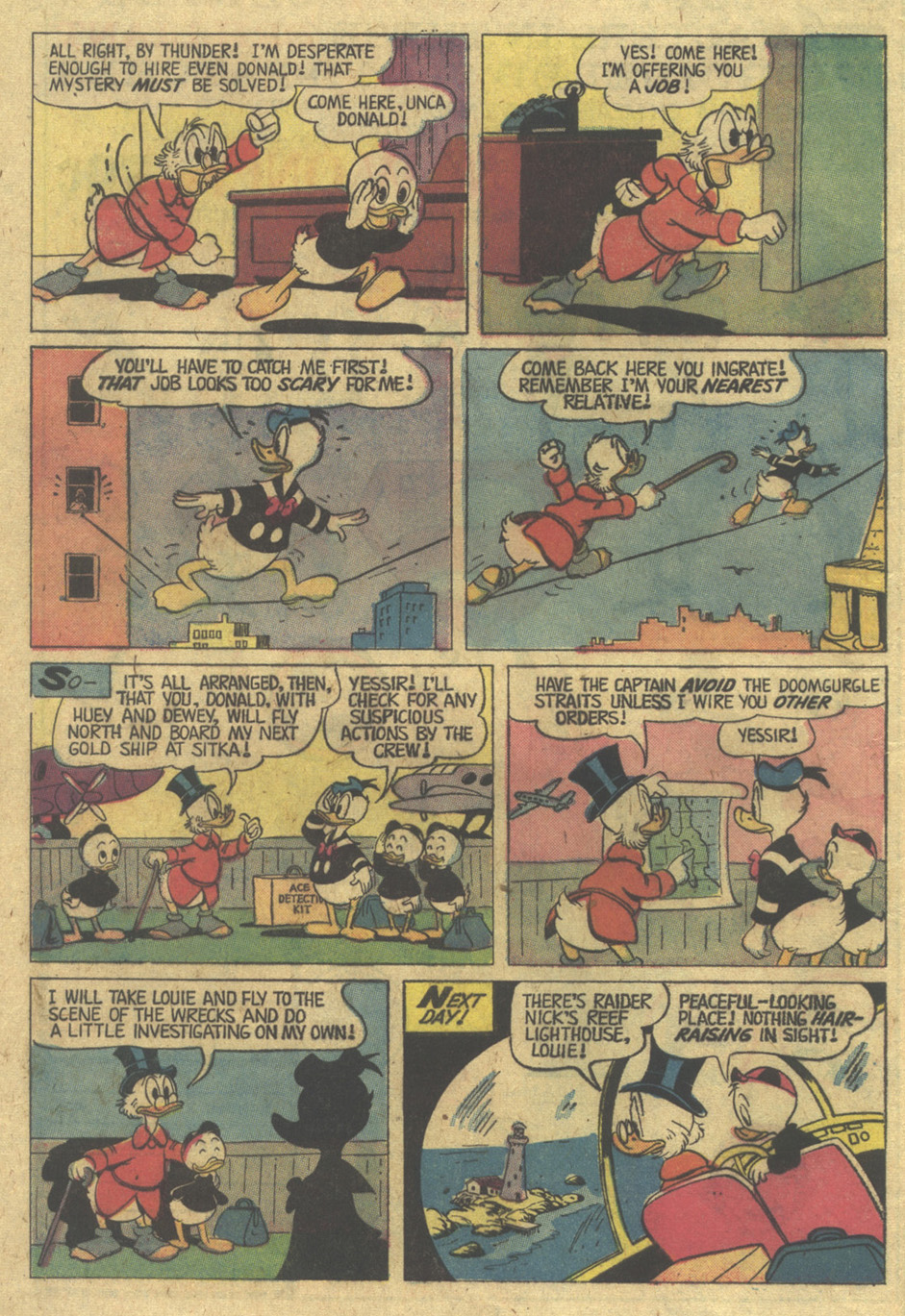 Read online Uncle Scrooge (1953) comic -  Issue #119 - 8