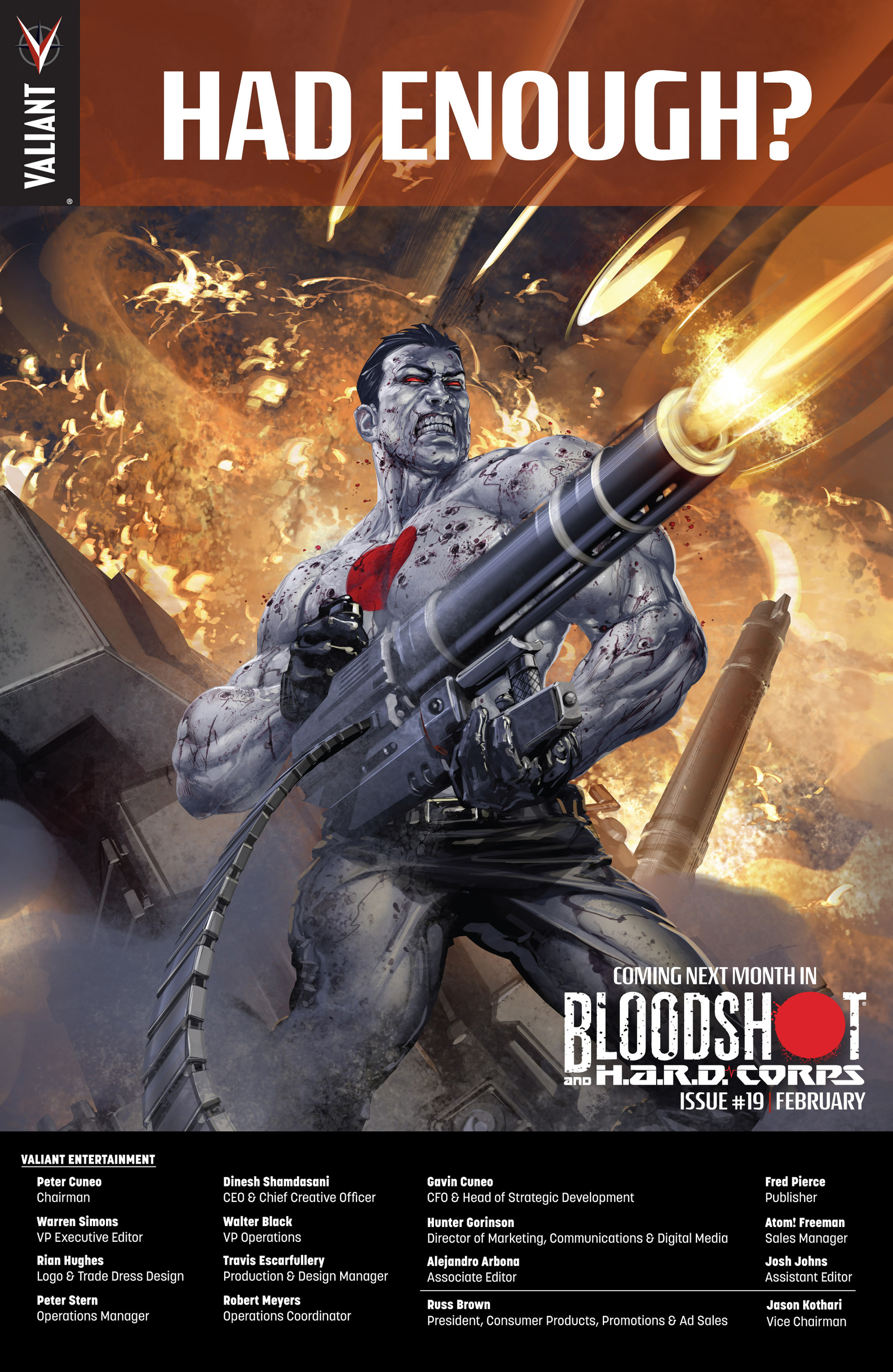 Read online Bloodshot and H.A.R.D.Corps comic -  Issue #18 - 24