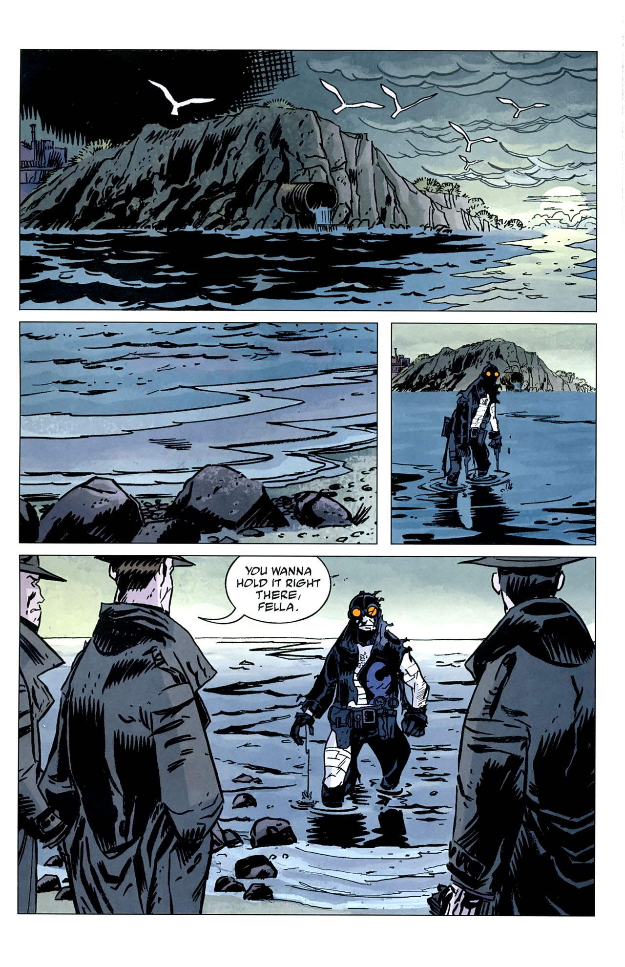 Read online Lobster Johnson: The Iron Prometheus comic -  Issue #5 - 21