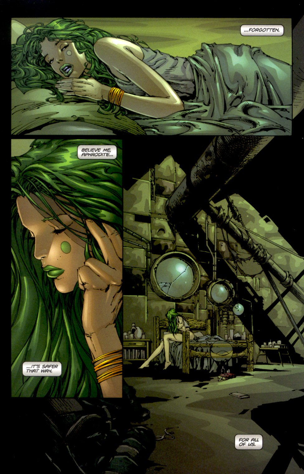 Read online Aphrodite IX (2000) comic -  Issue #0 - 10
