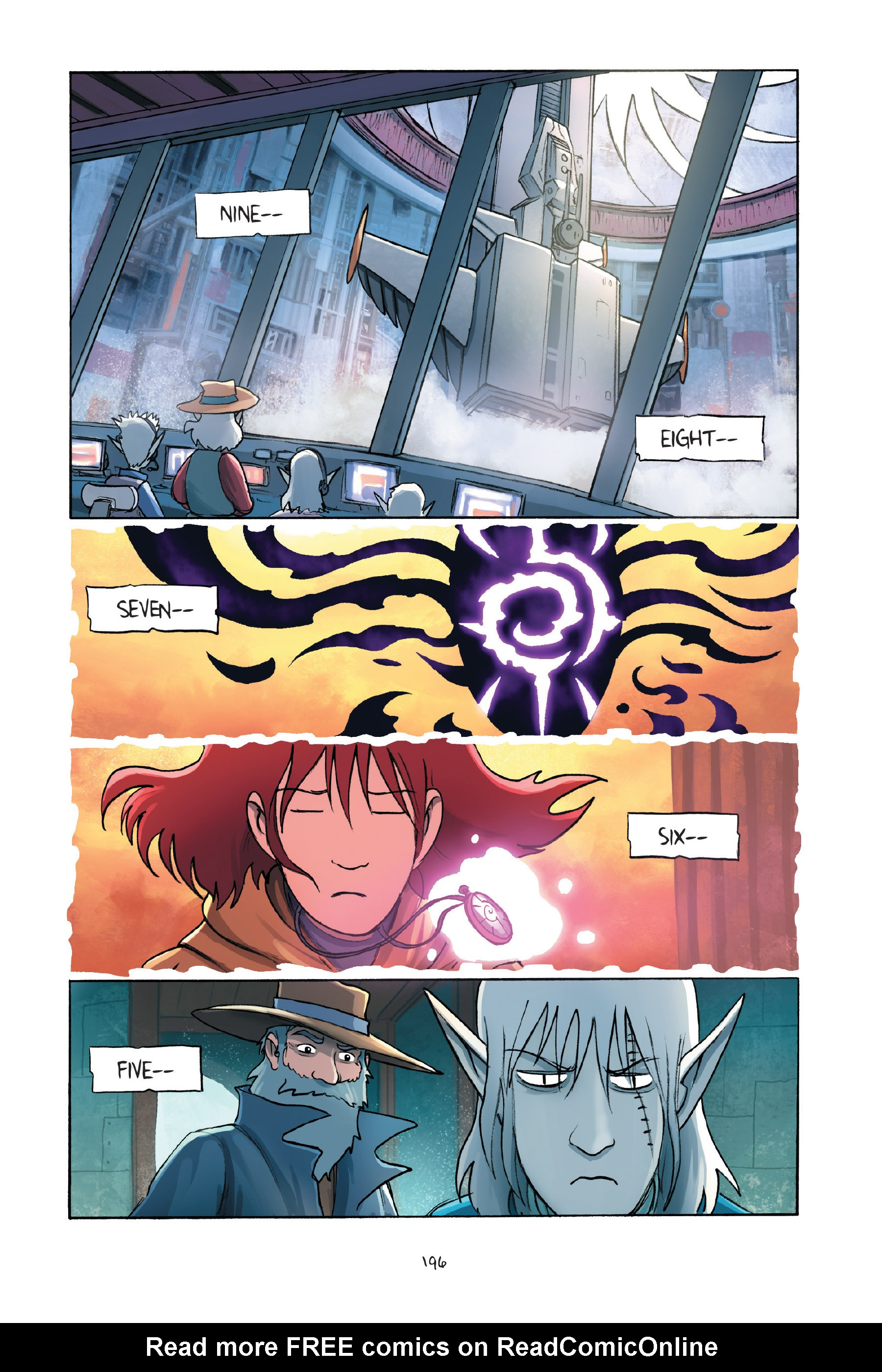 Read online Amulet comic -  Issue #7 - 194