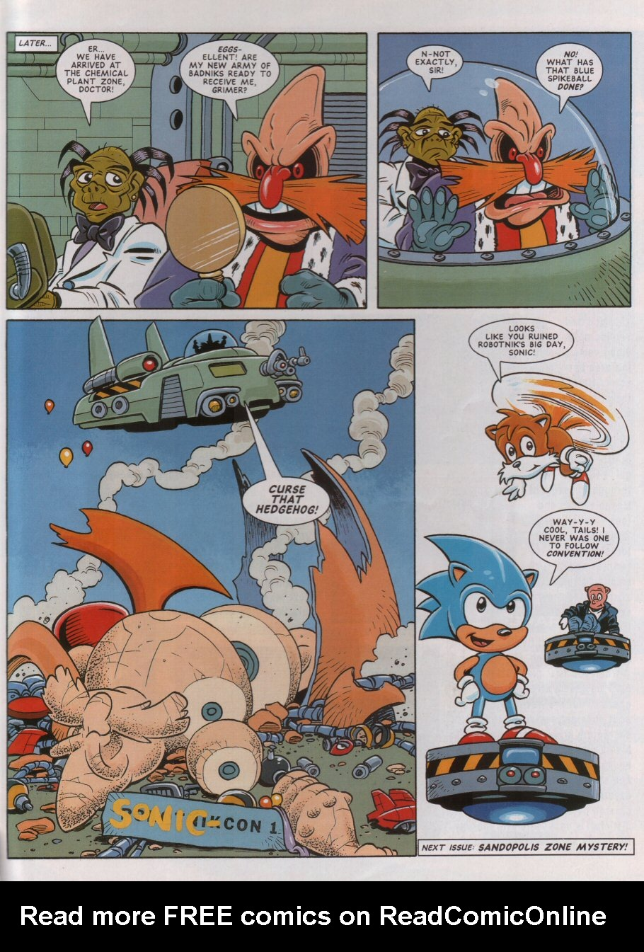 Read online Sonic the Comic comic -  Issue #46 - 9