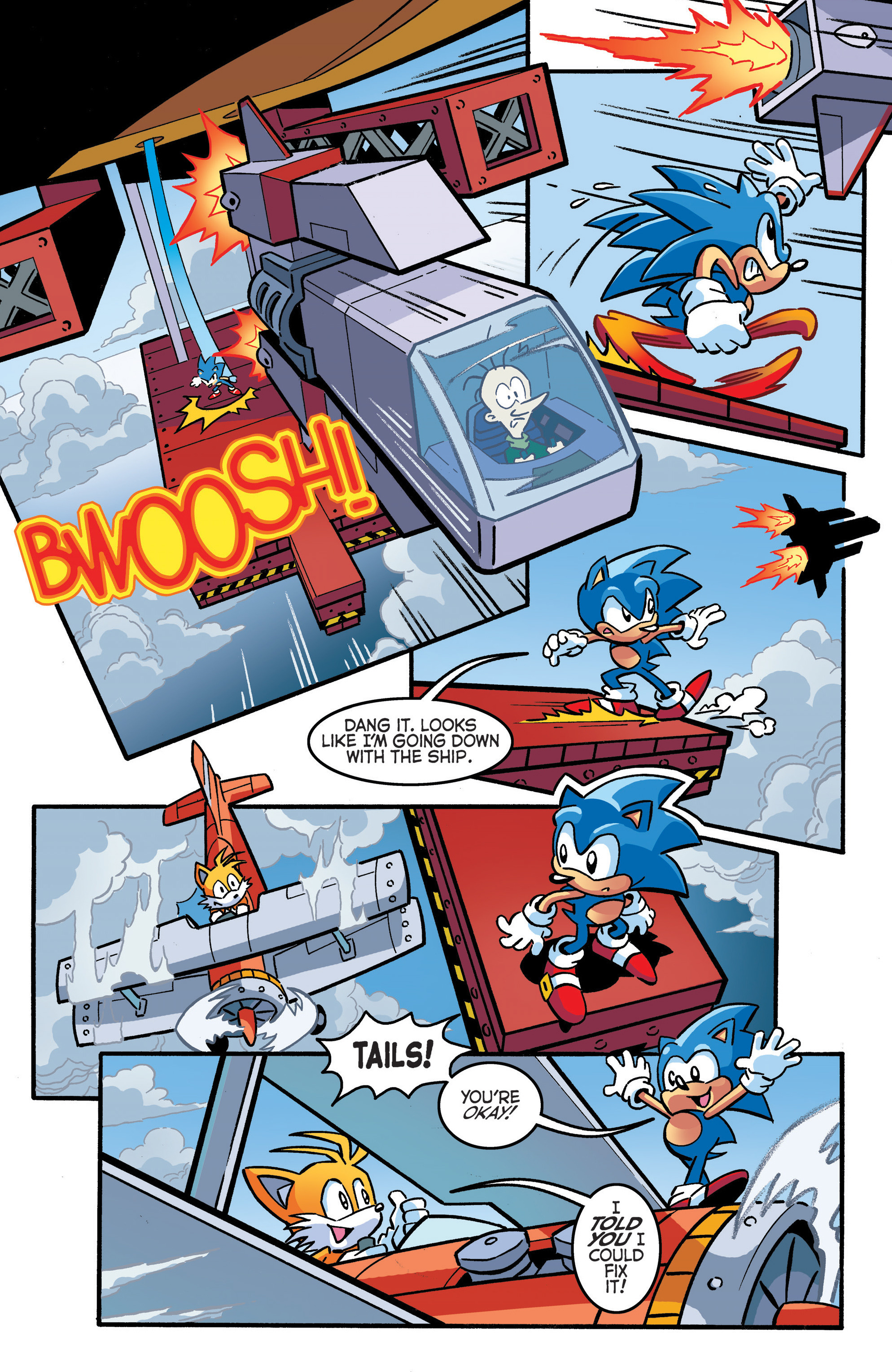 Read online Sonic The Hedgehog comic -  Issue #289 - 13