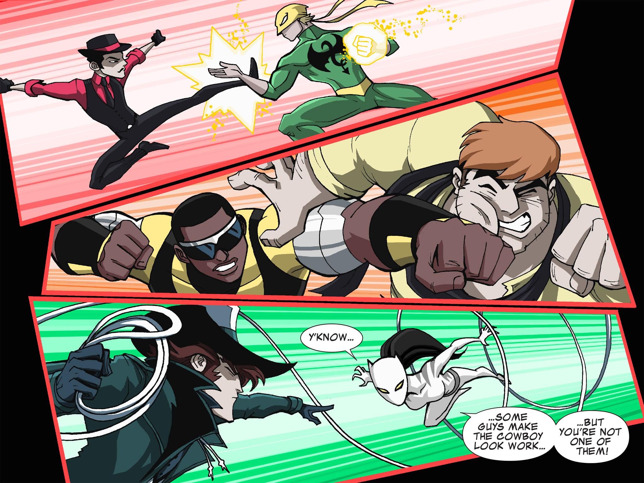 Read online Ultimate Spider-Man (Infinite Comics) (2015) comic -  Issue #19 - 23