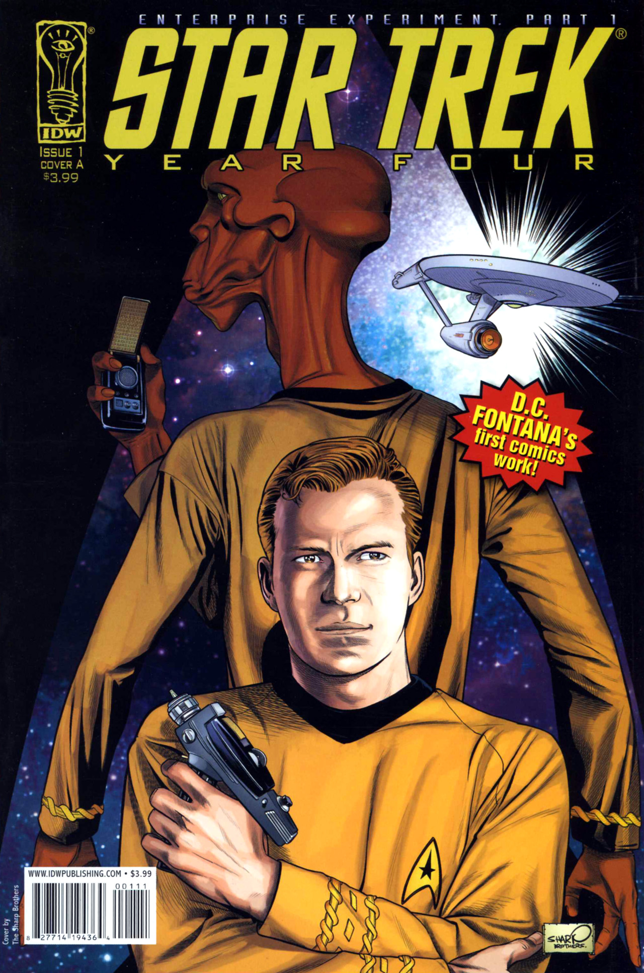 Star Trek Year Four: The Enterprise Experiment 1 Page 1