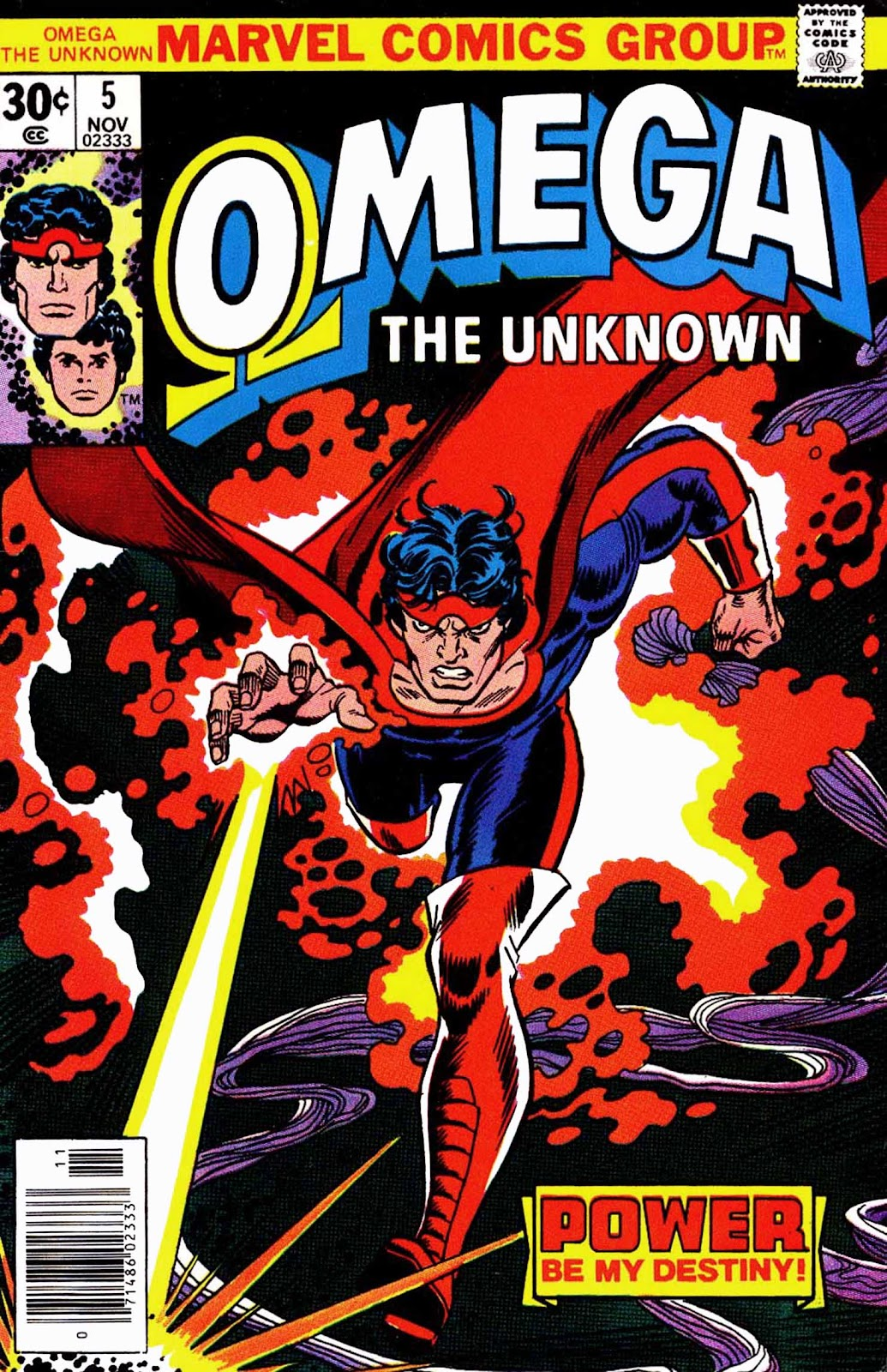 Omega the Unknown (1976) issue 5 - Page 1