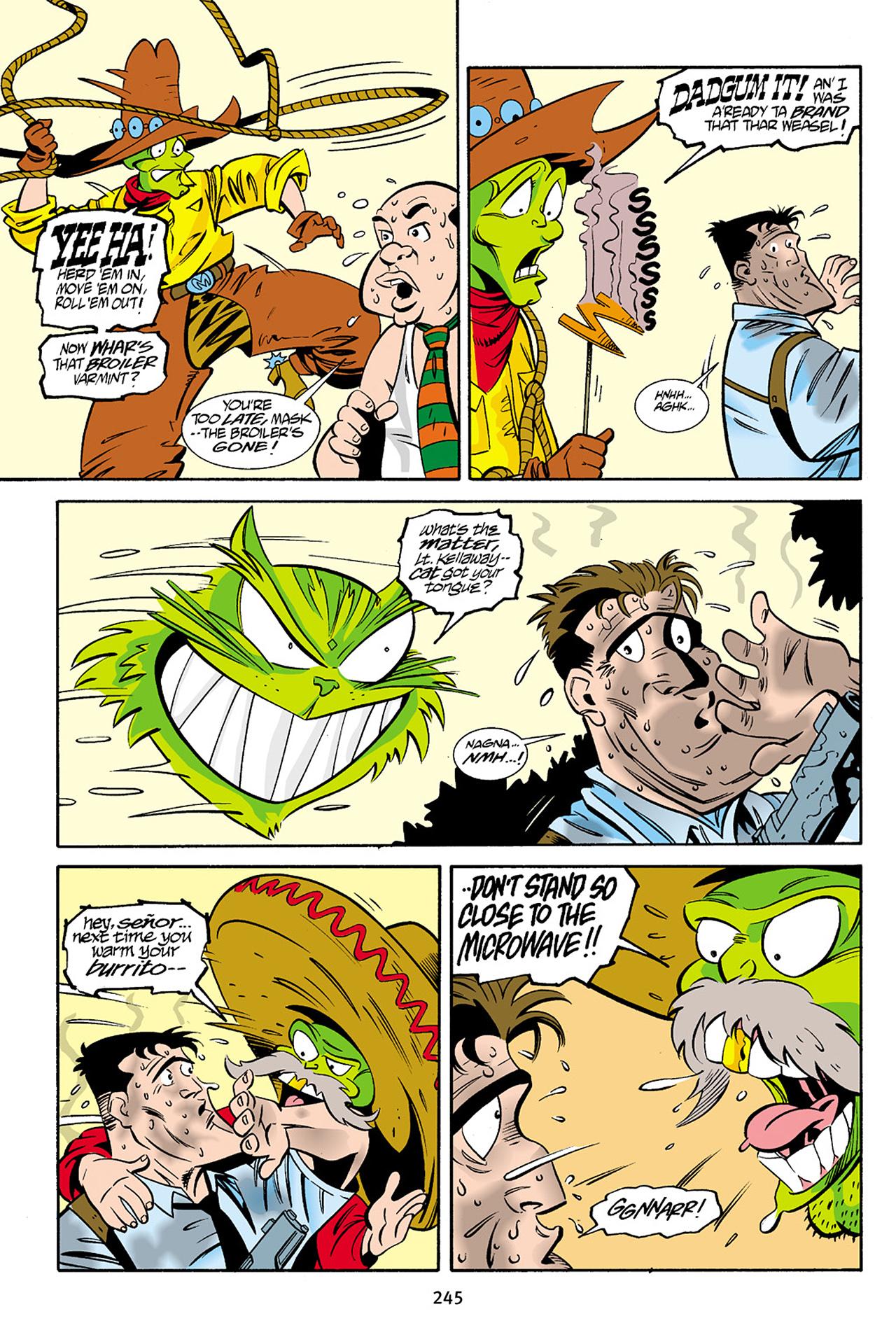 Read online Adventures Of The Mask Omnibus comic -  Issue #Adventures Of The Mask Omnibus Full - 244