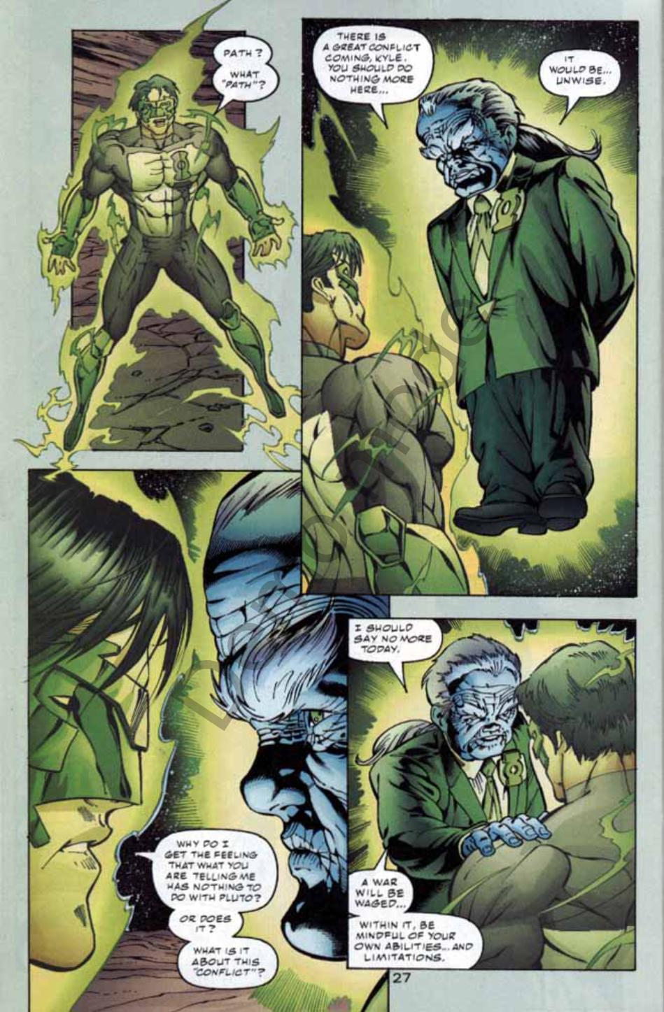 Read online Green Lantern: Our Worlds At War comic -  Issue # Full - 26