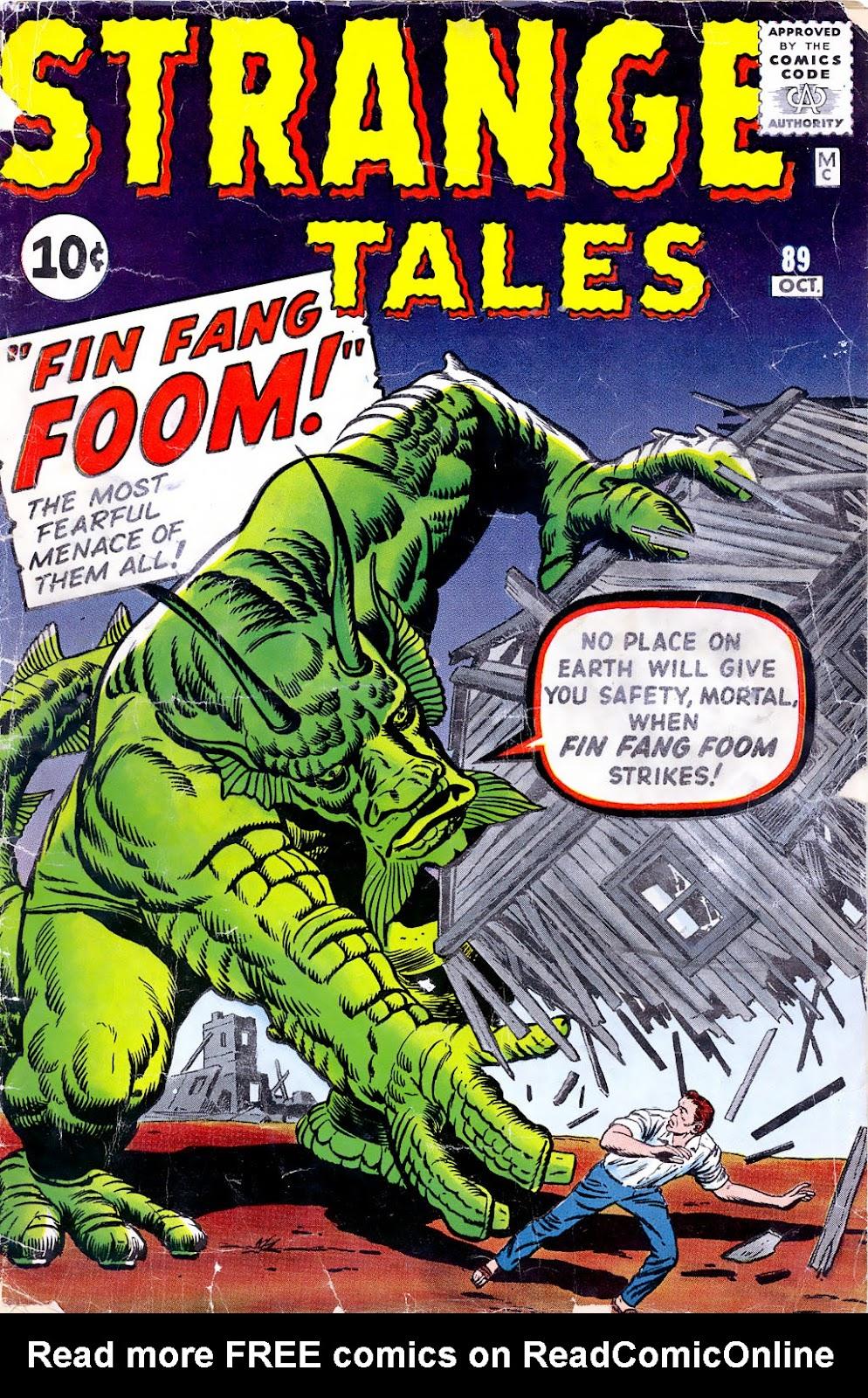 Strange Tales (1951) 89 Page 1