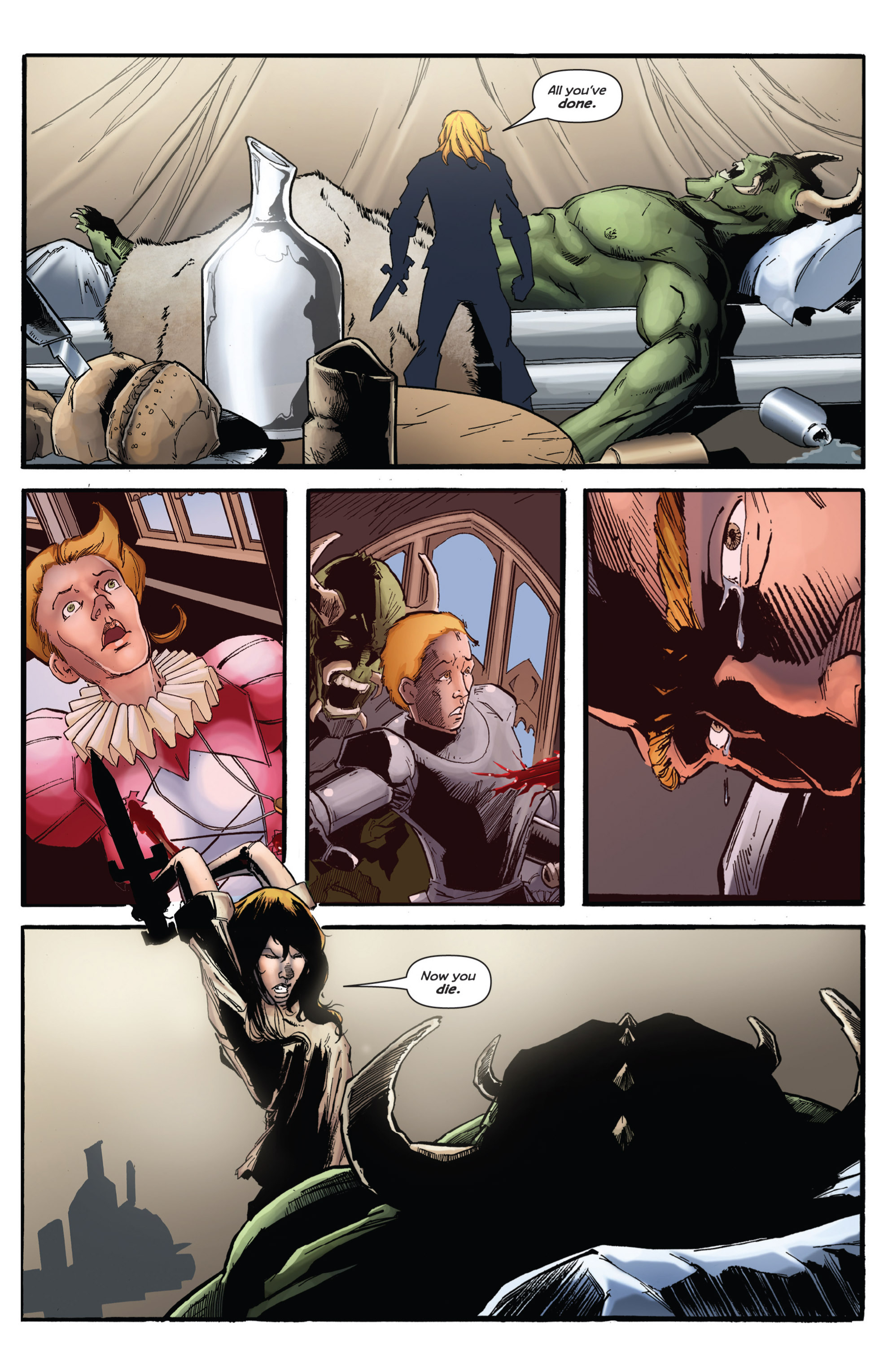 Read online Grimm Fairy Tales presents Grimm Universe comic -  Issue # TPB - 122
