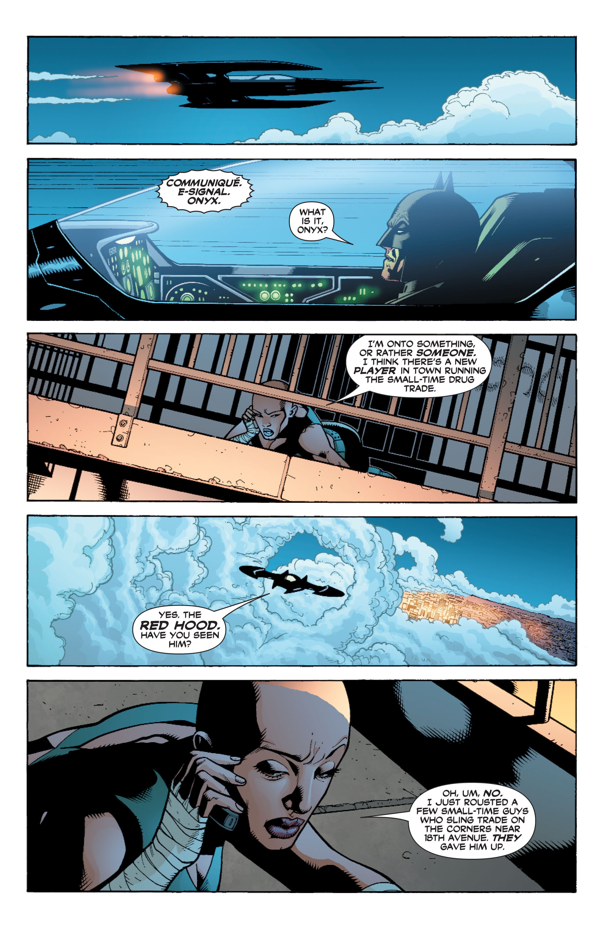 Read online Batman: Under The Red Hood comic -  Issue # Full - 121