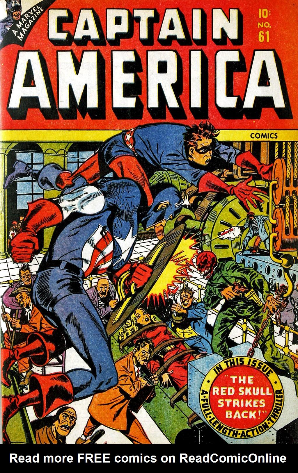 Captain America Comics 61 Page 1