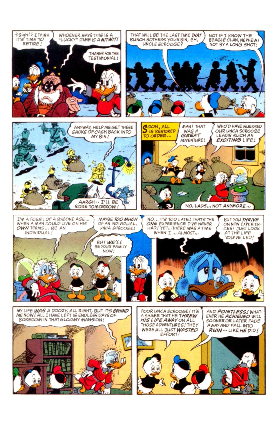 Read online Uncle Scrooge (1953) comic -  Issue #296 - 17