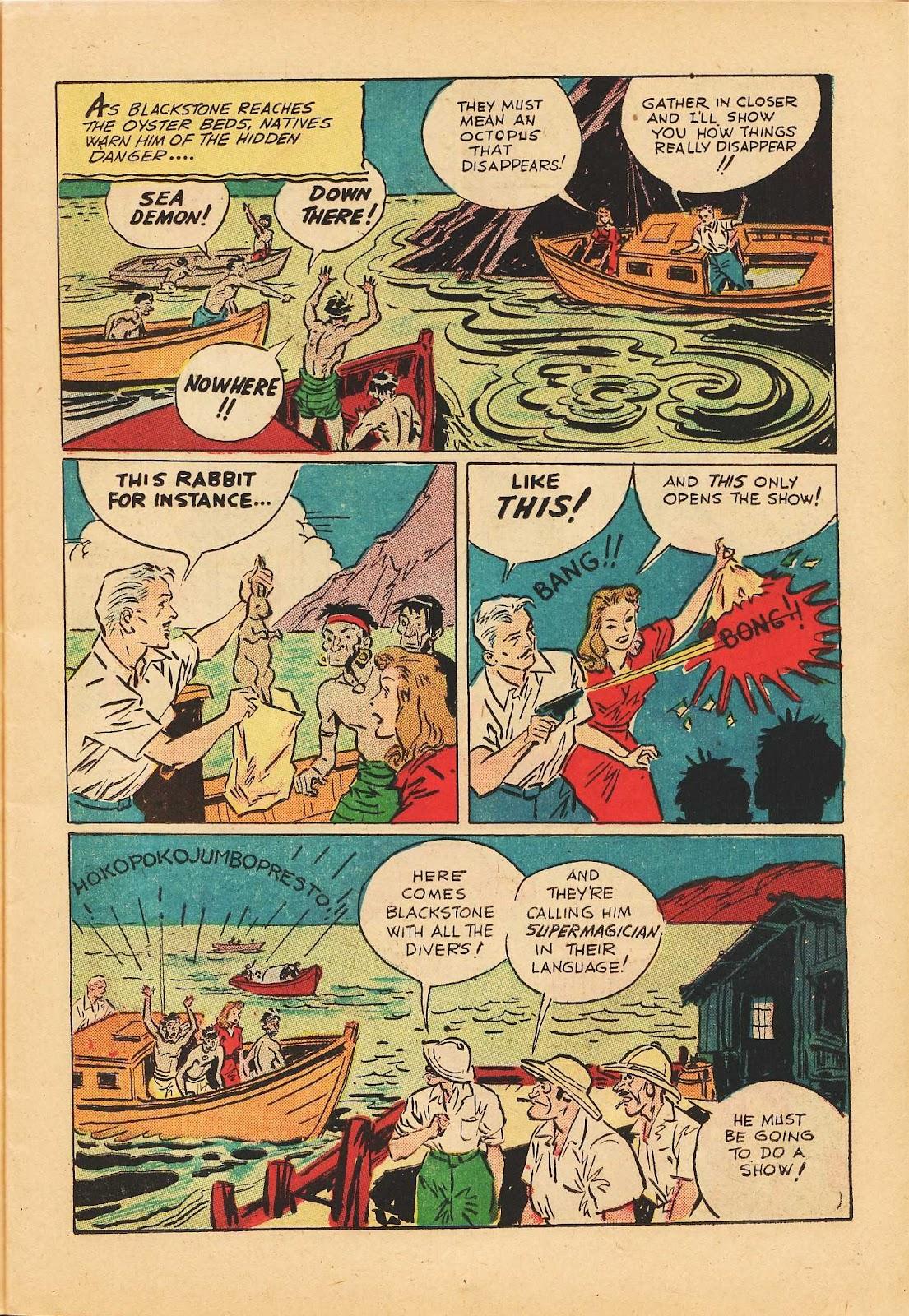 Super-Magician Comics issue 22 - Page 19